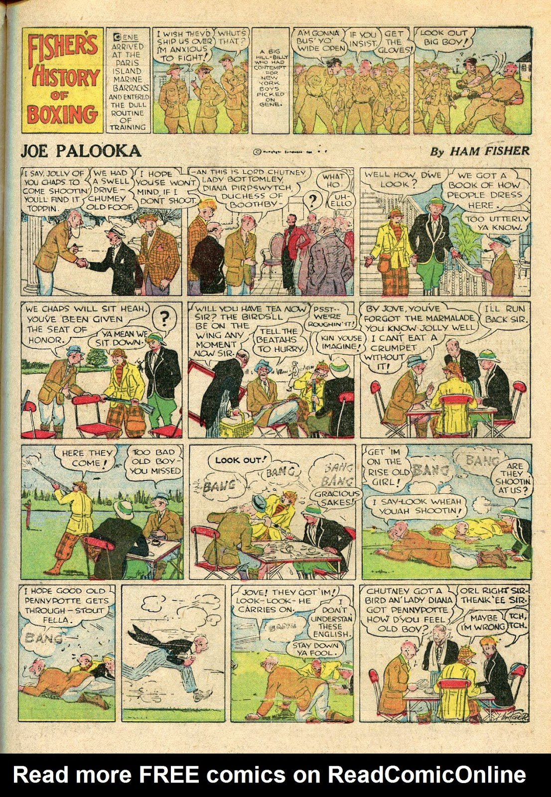 Read online Famous Funnies comic -  Issue #33 - 23