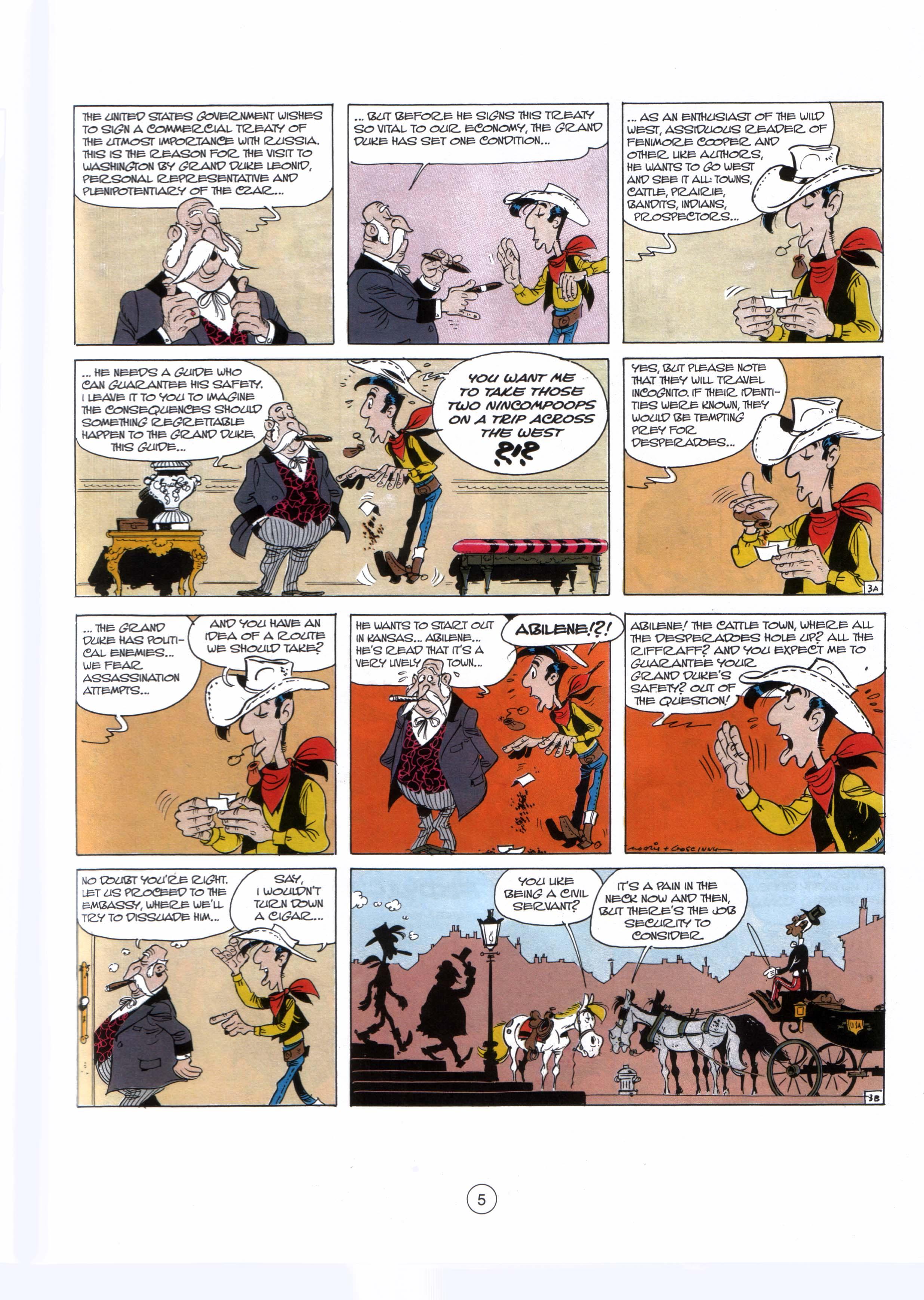 Read online A Lucky Luke Adventure comic -  Issue #29 - 4