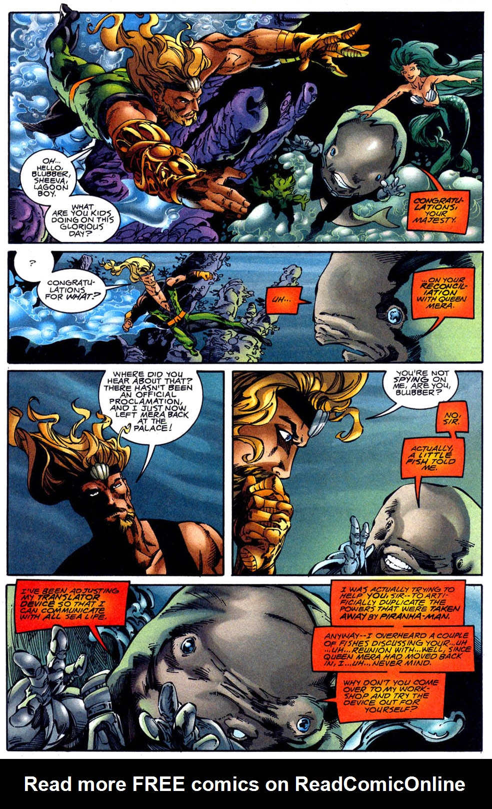 Read online Aquaman (1994) comic -  Issue #62 - 4