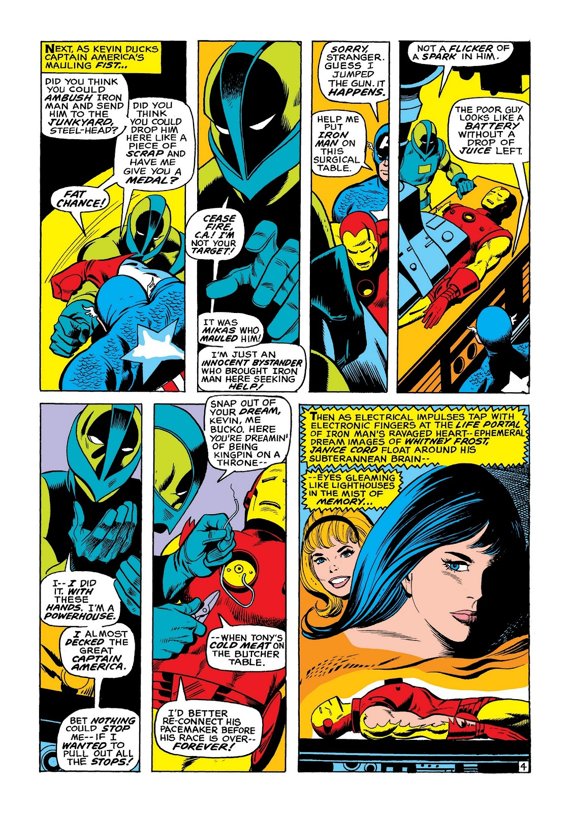 Read online Marvel Masterworks: The Invincible Iron Man comic -  Issue # TPB 8 (Part 2) - 12