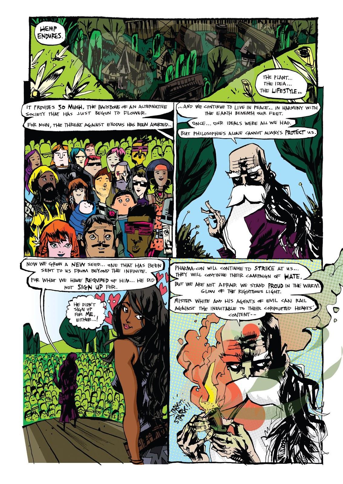 Read online Marijuanaman comic -  Issue # Full - 48
