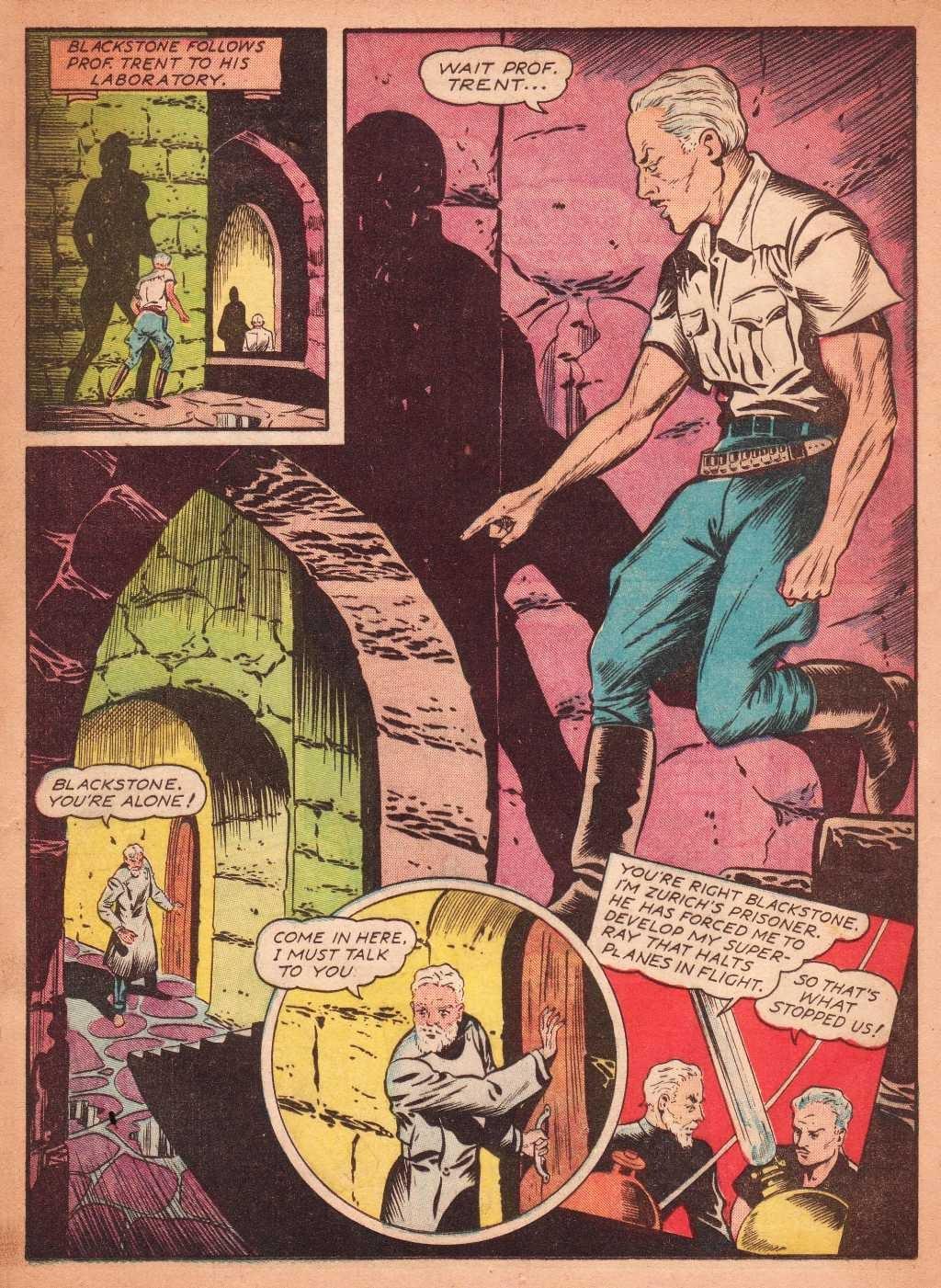 Read online Super-Magician Comics comic -  Issue #2 - 19