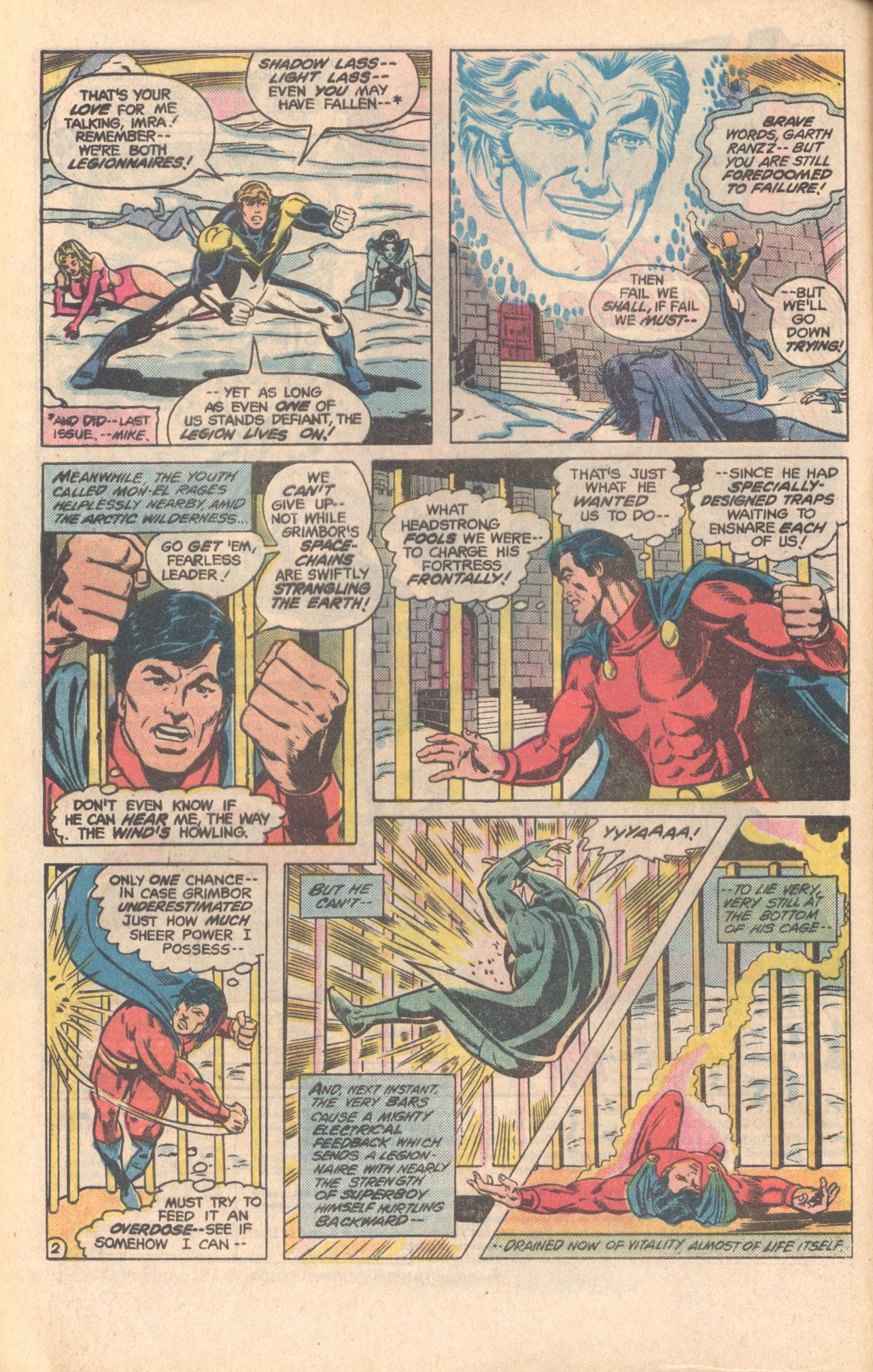Legion of Super-Heroes (1980) 279 Page 2