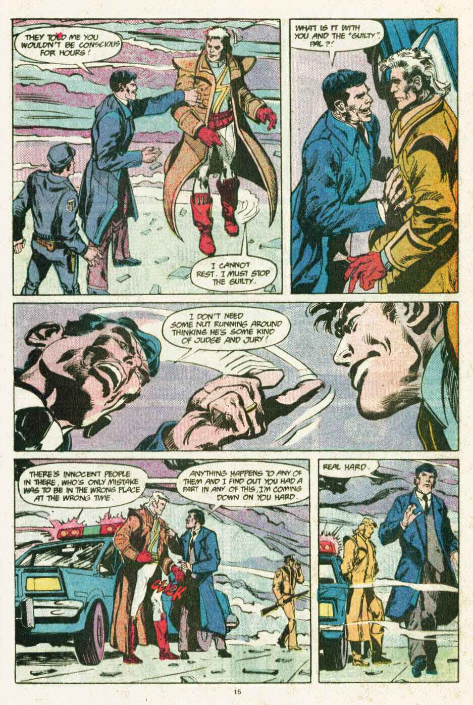 Read online Justice (1986) comic -  Issue #12 - 16