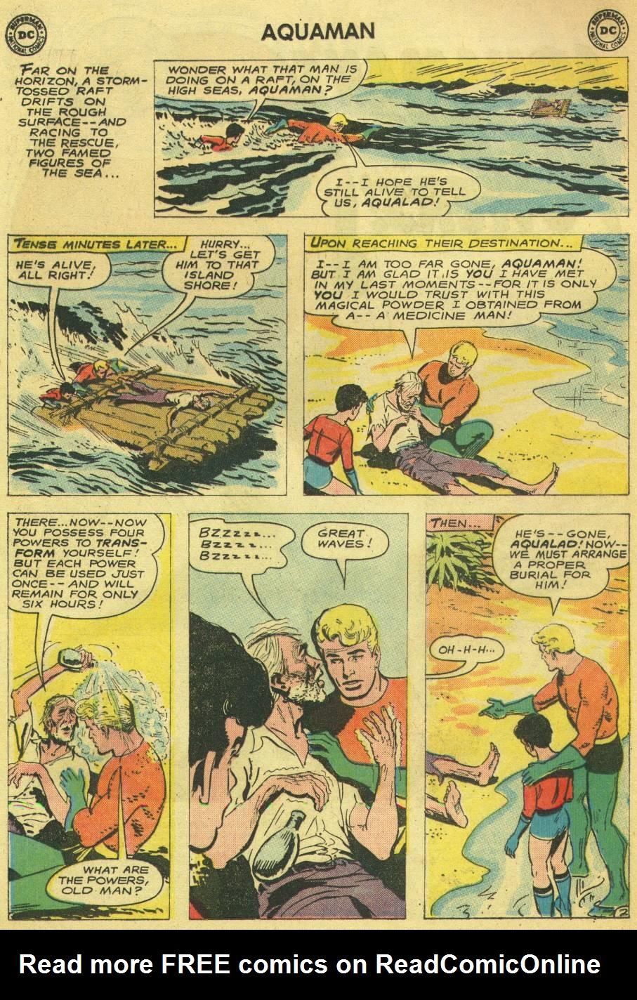 Read online Aquaman (1962) comic -  Issue #14 - 4