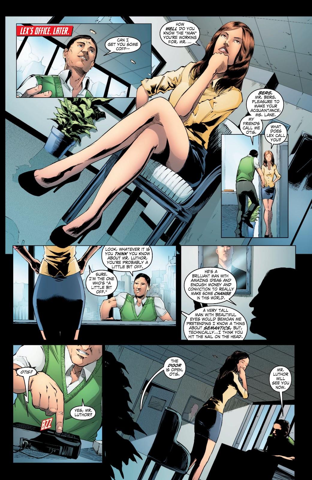 Read online Smallville Season 11 [II] comic -  Issue # TPB 3 - 17