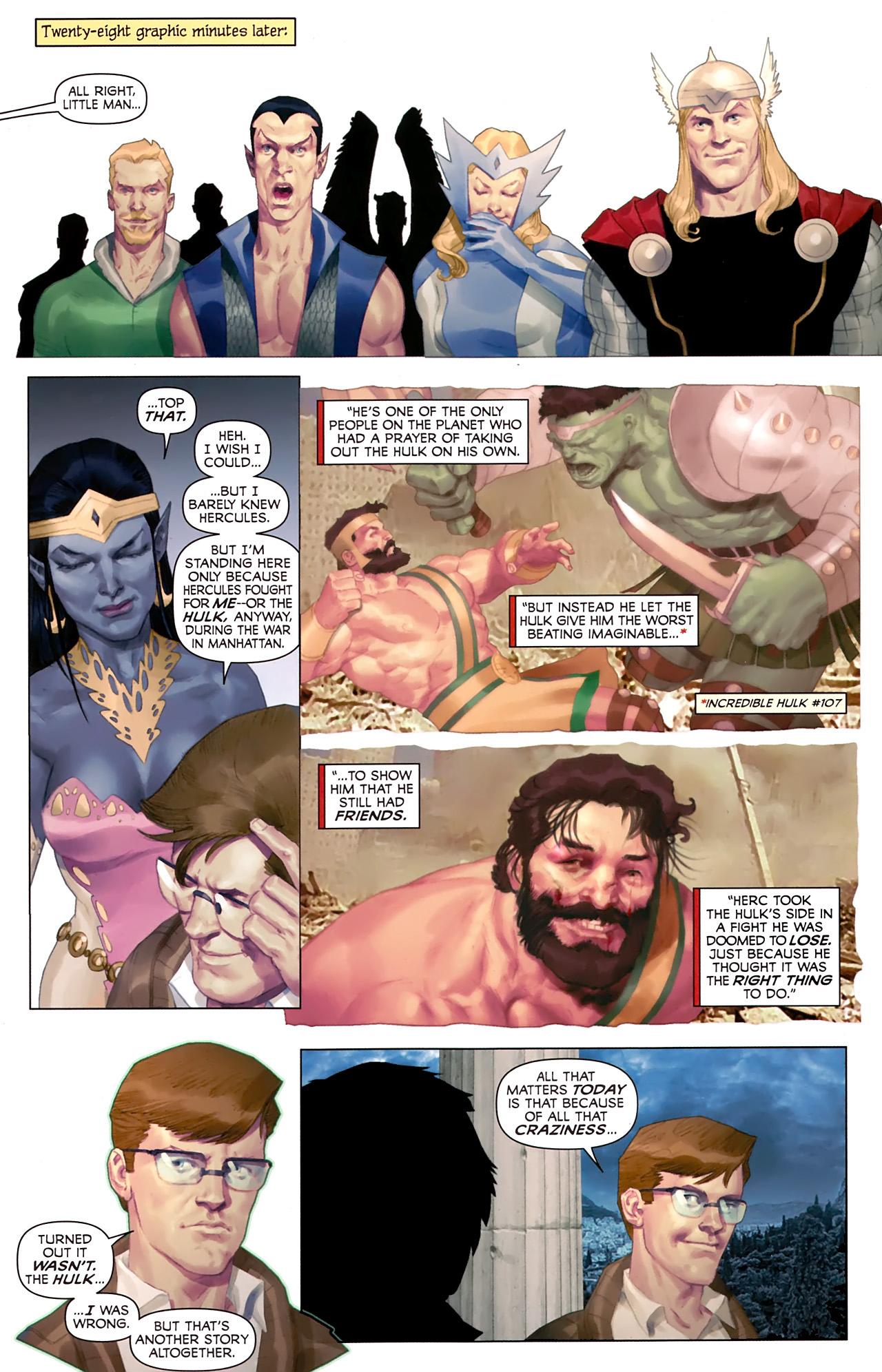 Read online Hercules: Fall of an Avenger comic -  Issue #1 - 18