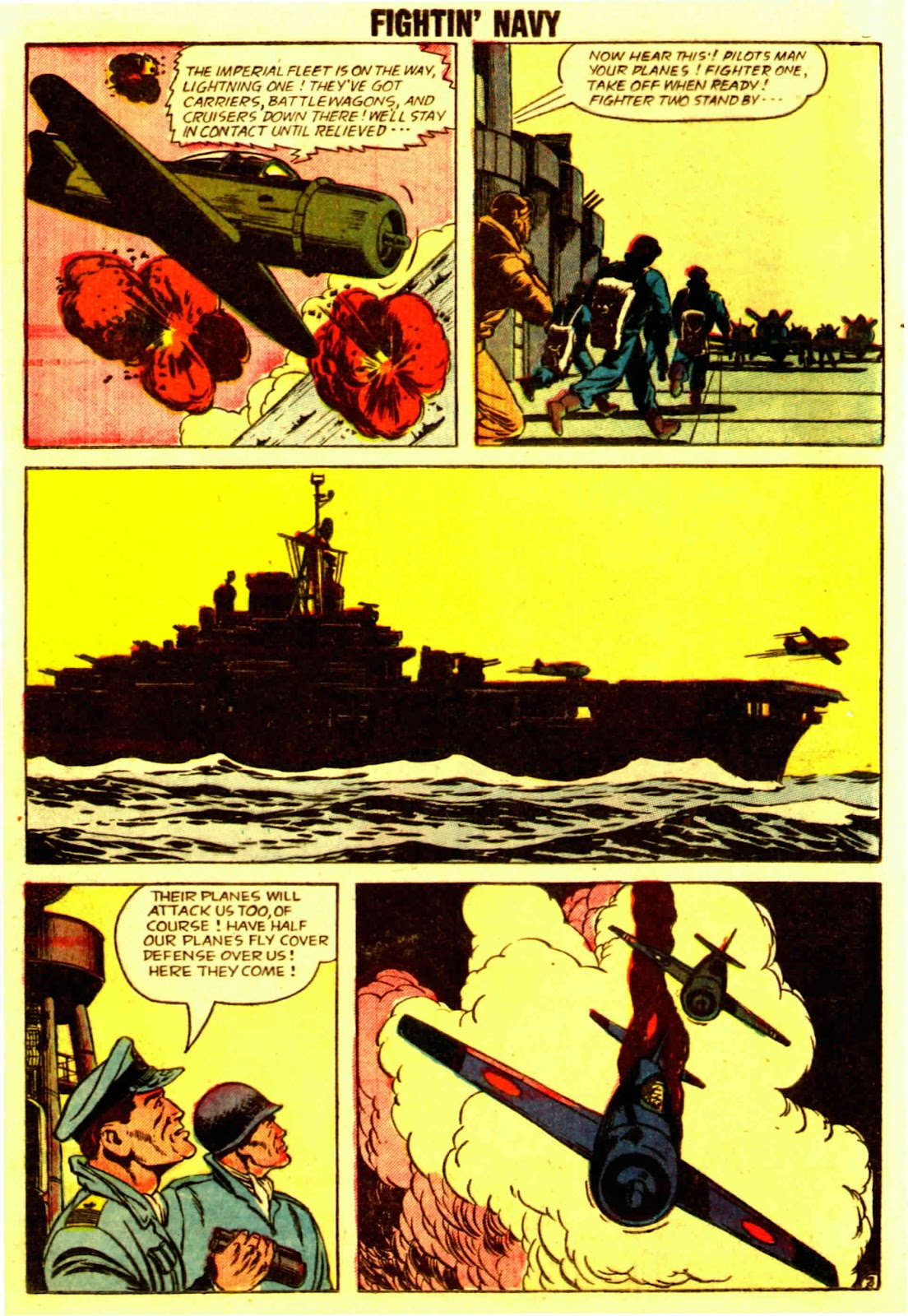 Read online Fightin' Navy comic -  Issue #83 - 22