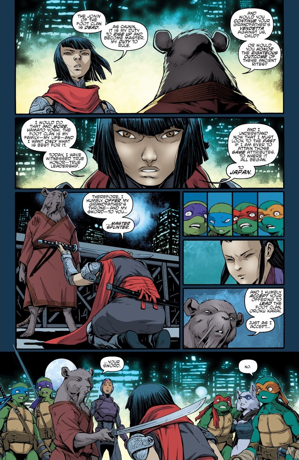 Read online Teenage Mutant Ninja Turtles: The IDW Collection comic -  Issue # TPB 6 (Part 3) - 78