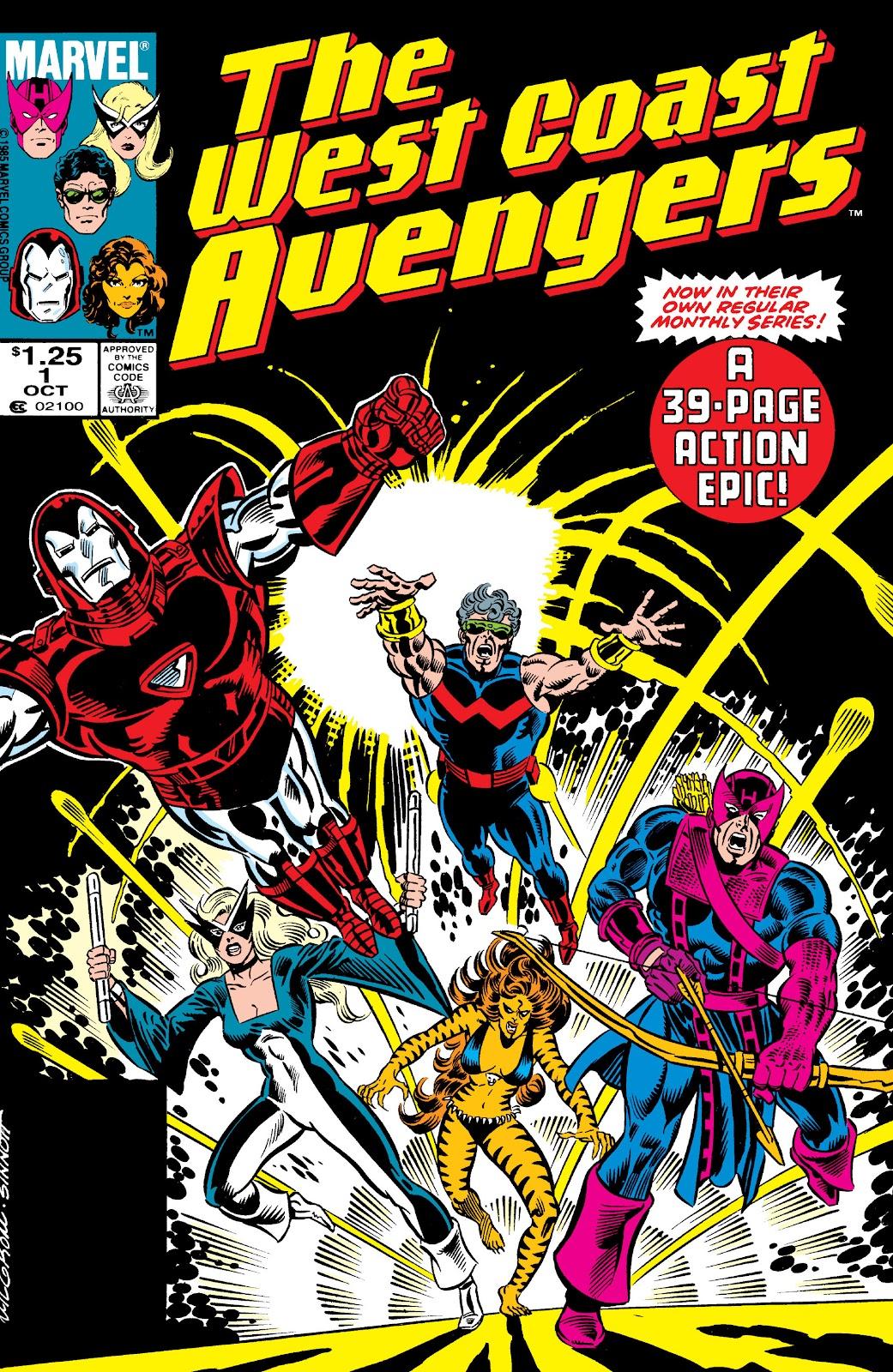 West Coast Avengers (1985) 1 Page 1
