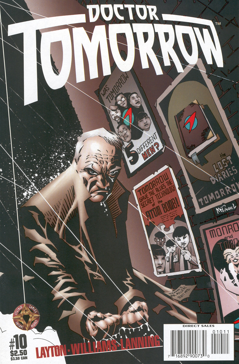 Read online Doctor Tomorrow comic -  Issue #10 - 1