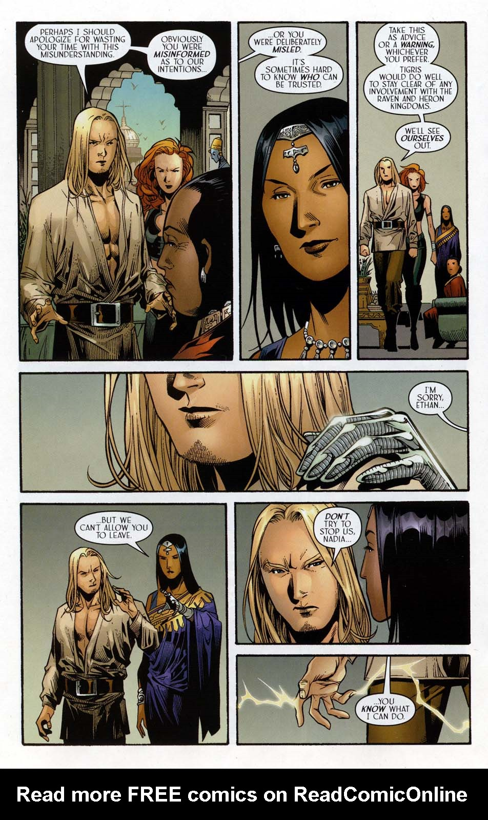 Read online Scion comic -  Issue #32 - 18