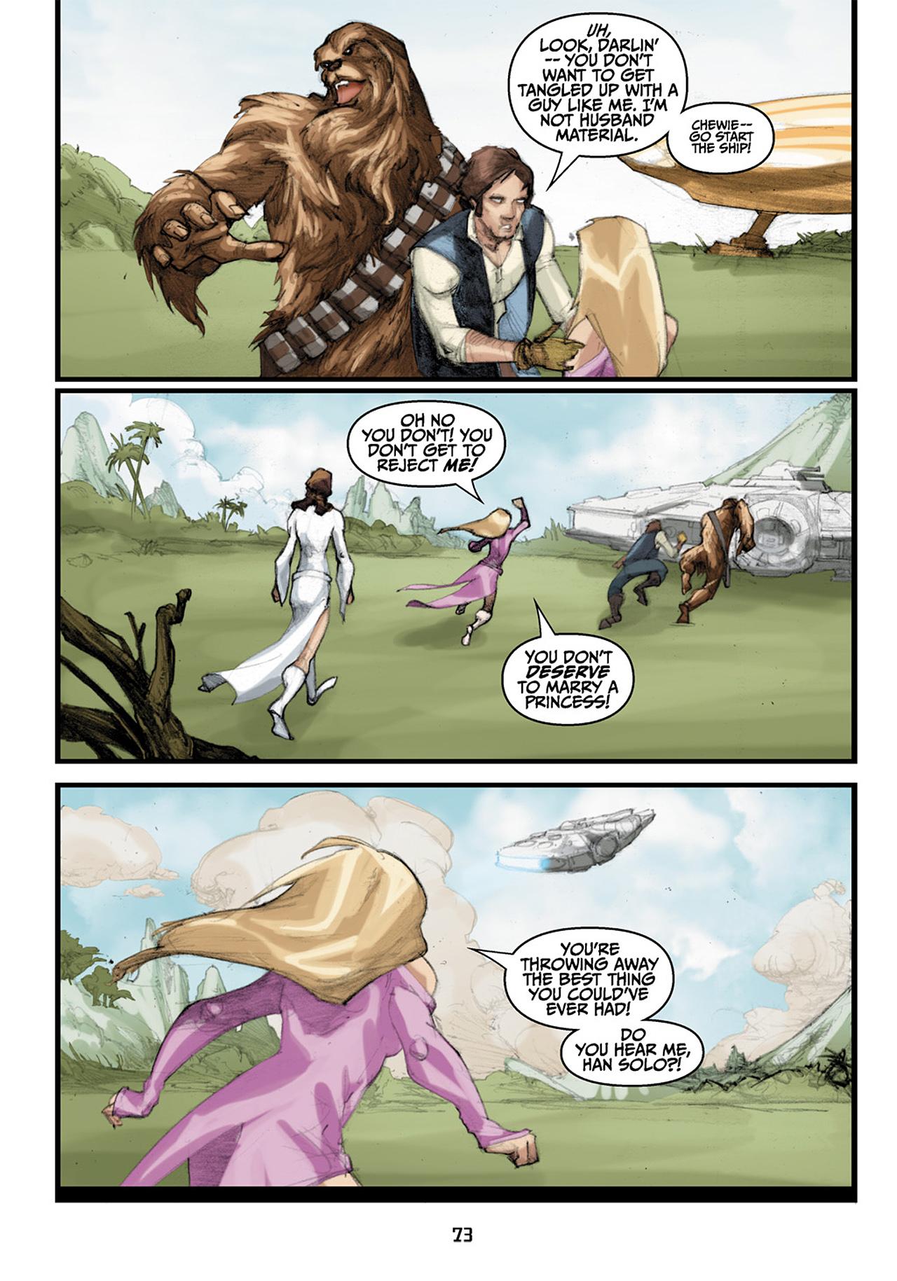 Read online Star Wars Omnibus comic -  Issue # Vol. 33 - 155