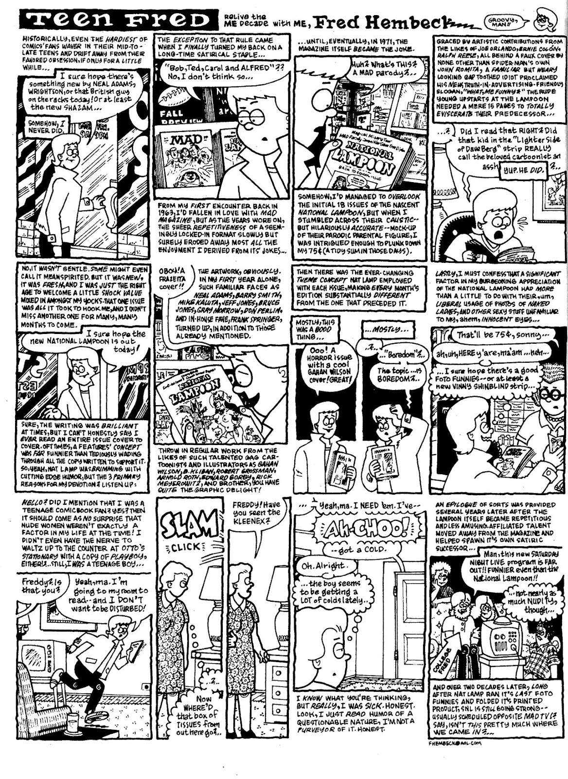 Read online The Nearly Complete Essential Hembeck Archives Omnibus comic -  Issue # TPB (Part 1) - 27