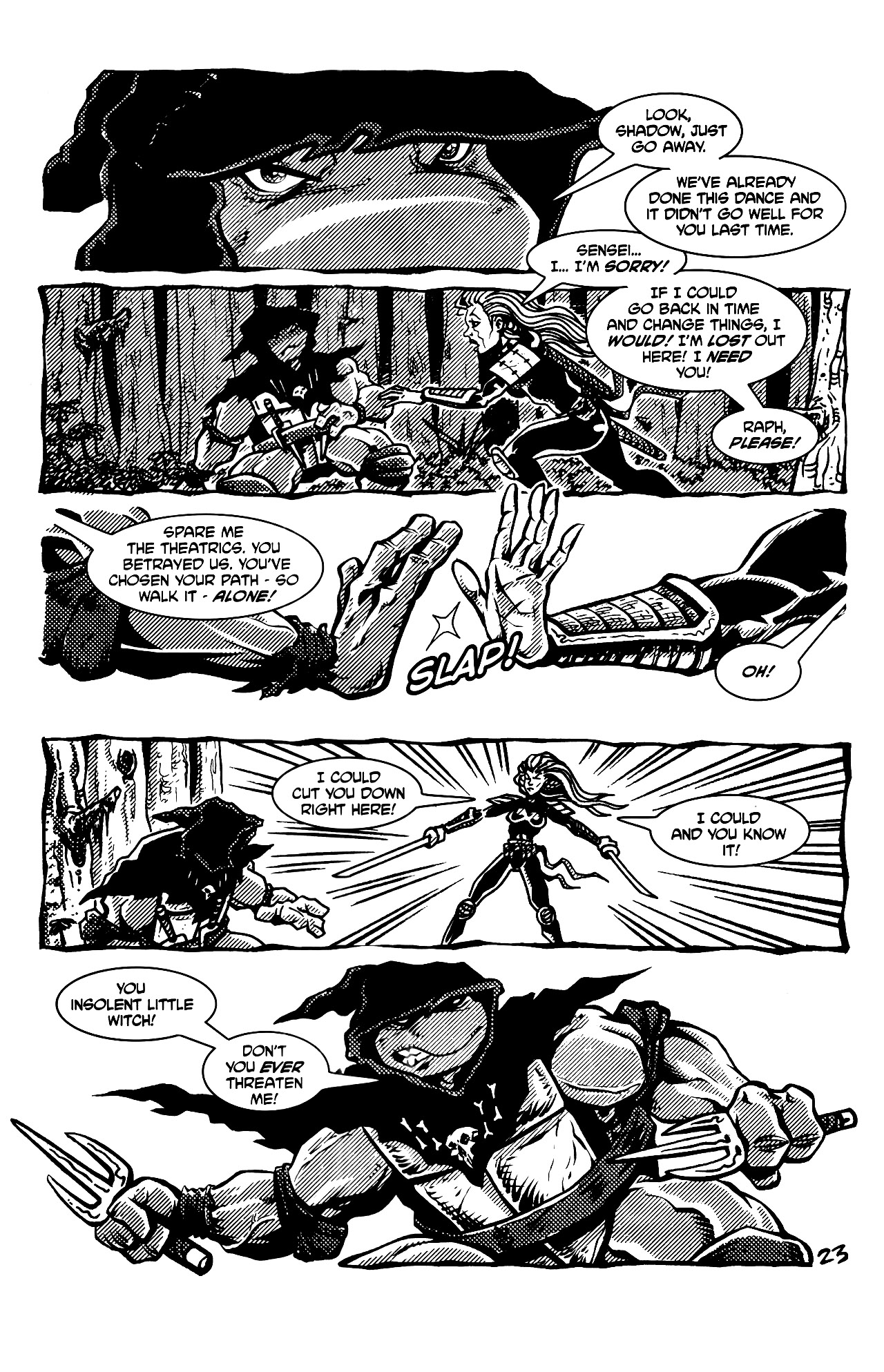 Read online Tales of the TMNT comic -  Issue #69 - 26