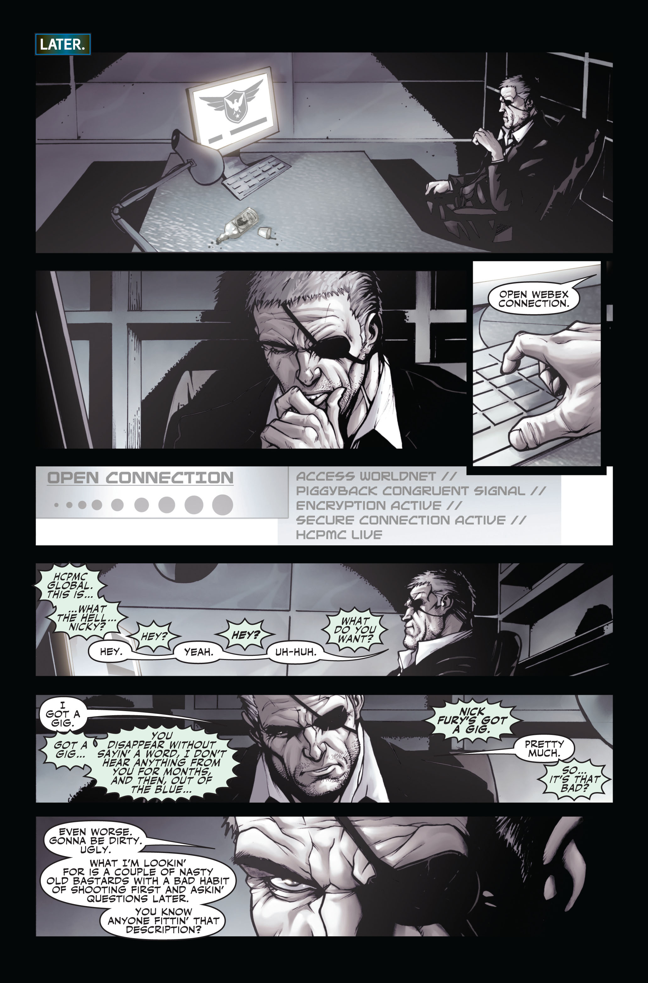 Read online Secret Warriors comic -  Issue #3 - 24