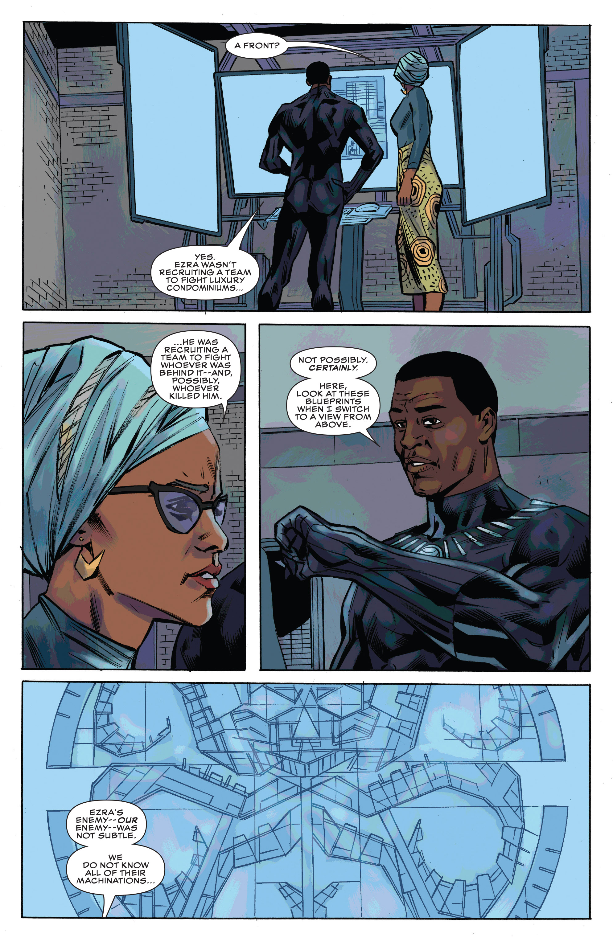 Read online Black Panther and the Crew comic -  Issue #3 - 19