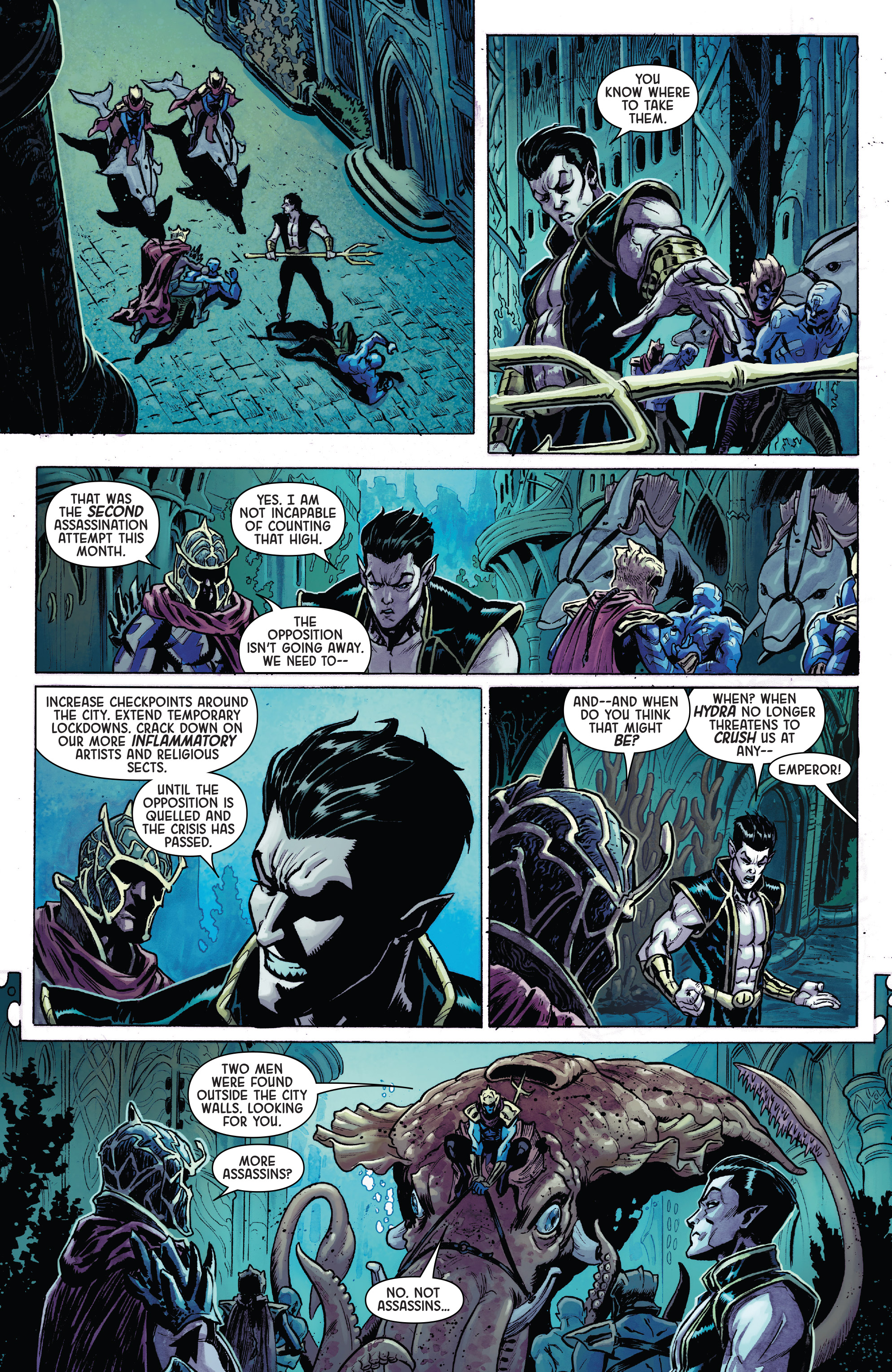 Read online Secret Empire: Brave New World comic -  Issue #1 - 4
