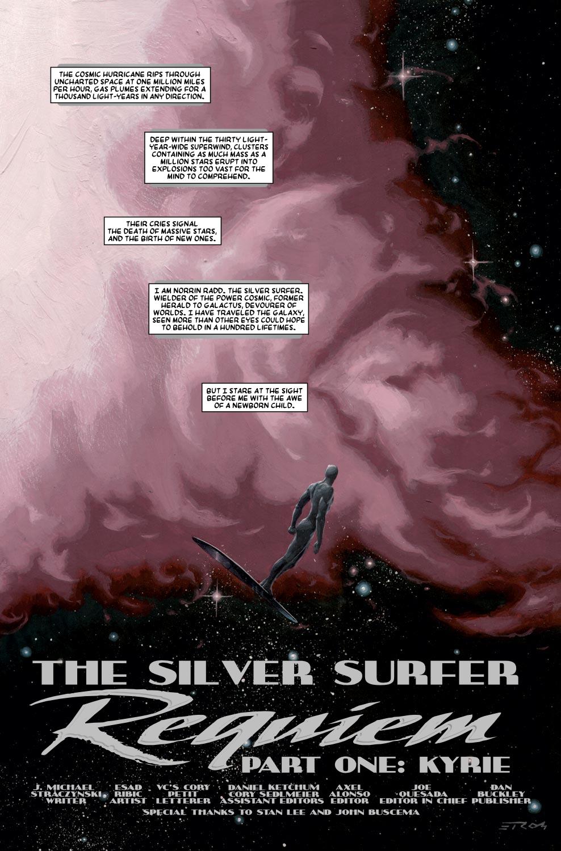 Read online Silver Surfer: Requiem comic -  Issue #1 - 3