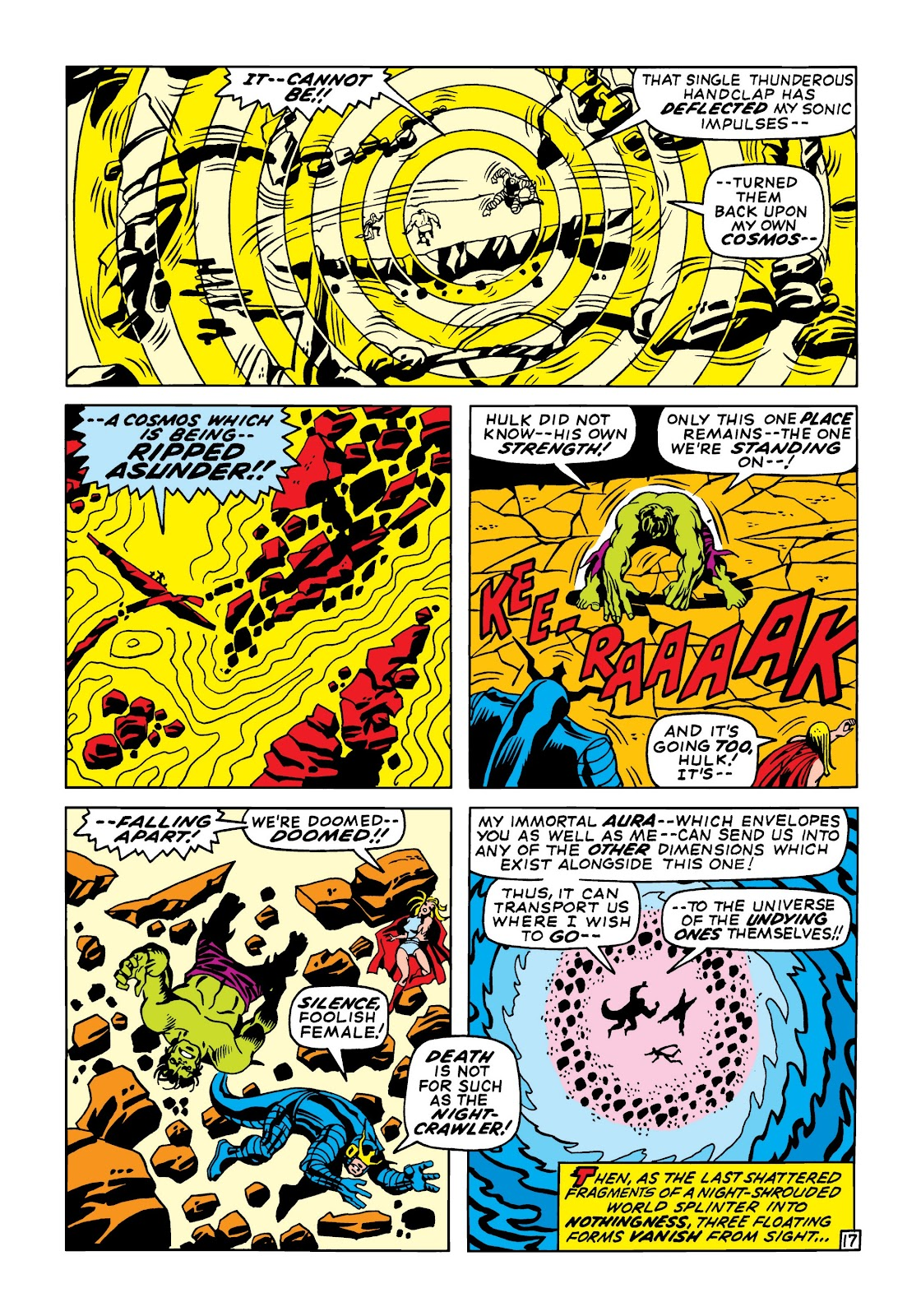 Read online Marvel Masterworks: The Incredible Hulk comic -  Issue # TPB 6 (Part 2) - 10