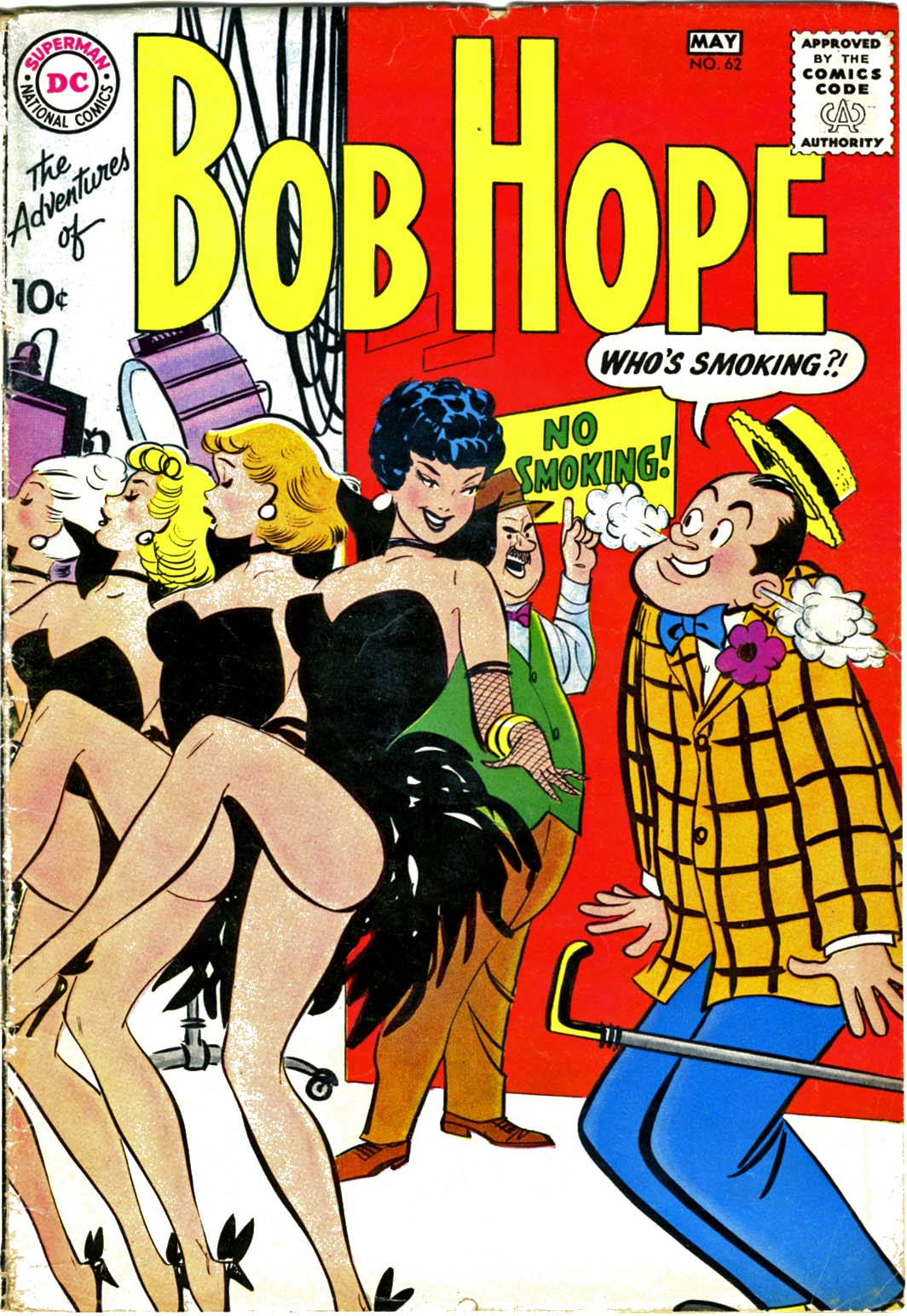 The Adventures of Bob Hope issue 62 - Page 1
