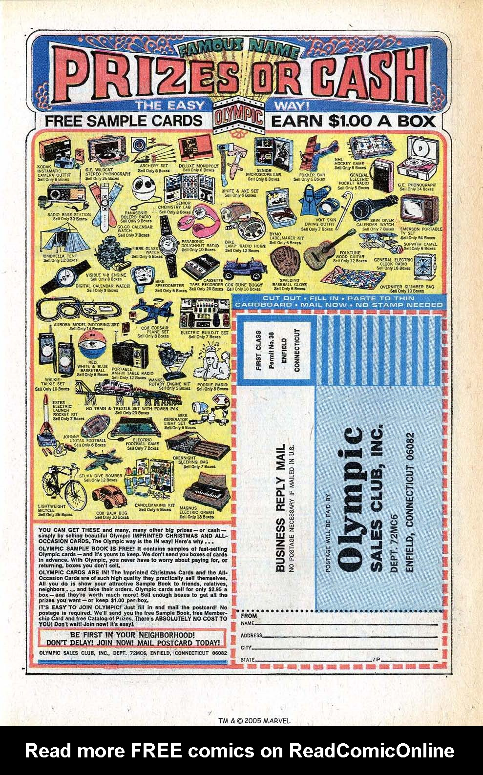 Read online Uncanny X-Men (1963) comic -  Issue #78 - 11