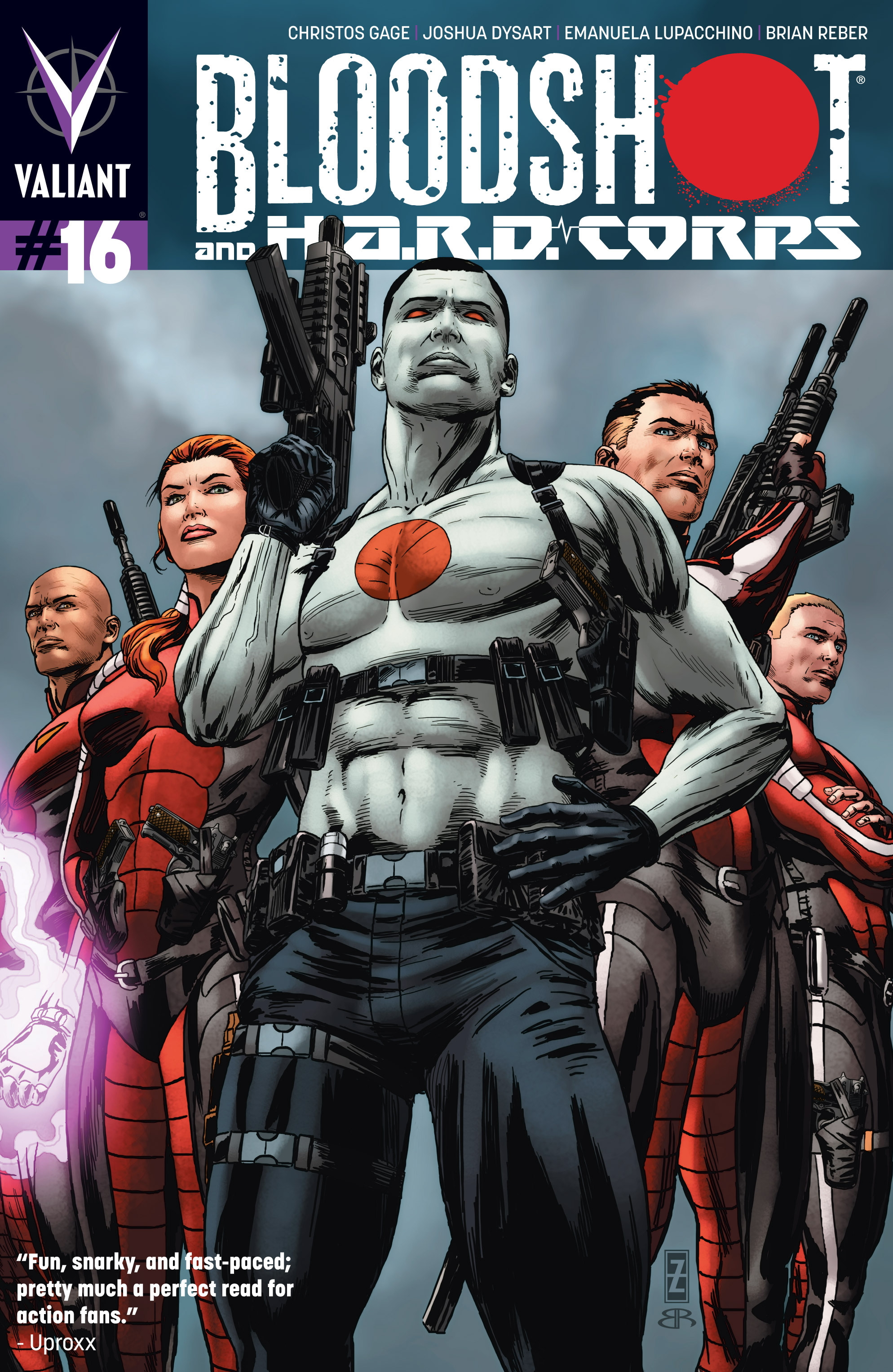Read online Bloodshot and H.A.R.D.Corps comic -  Issue # TPB 4 - 53