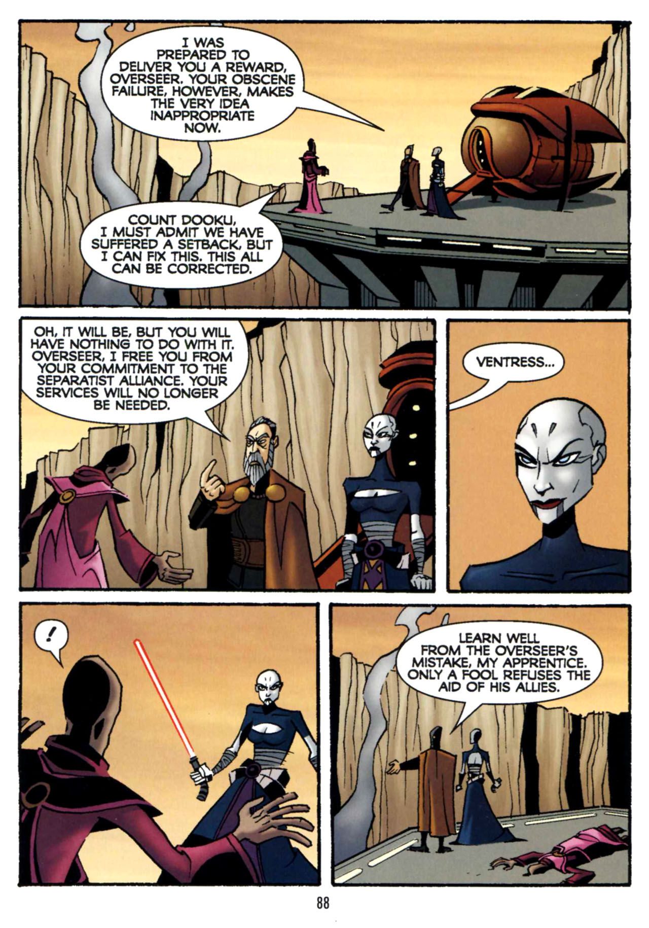 Read online Star Wars: The Clone Wars - Shipyards of Doom comic -  Issue # Full - 86