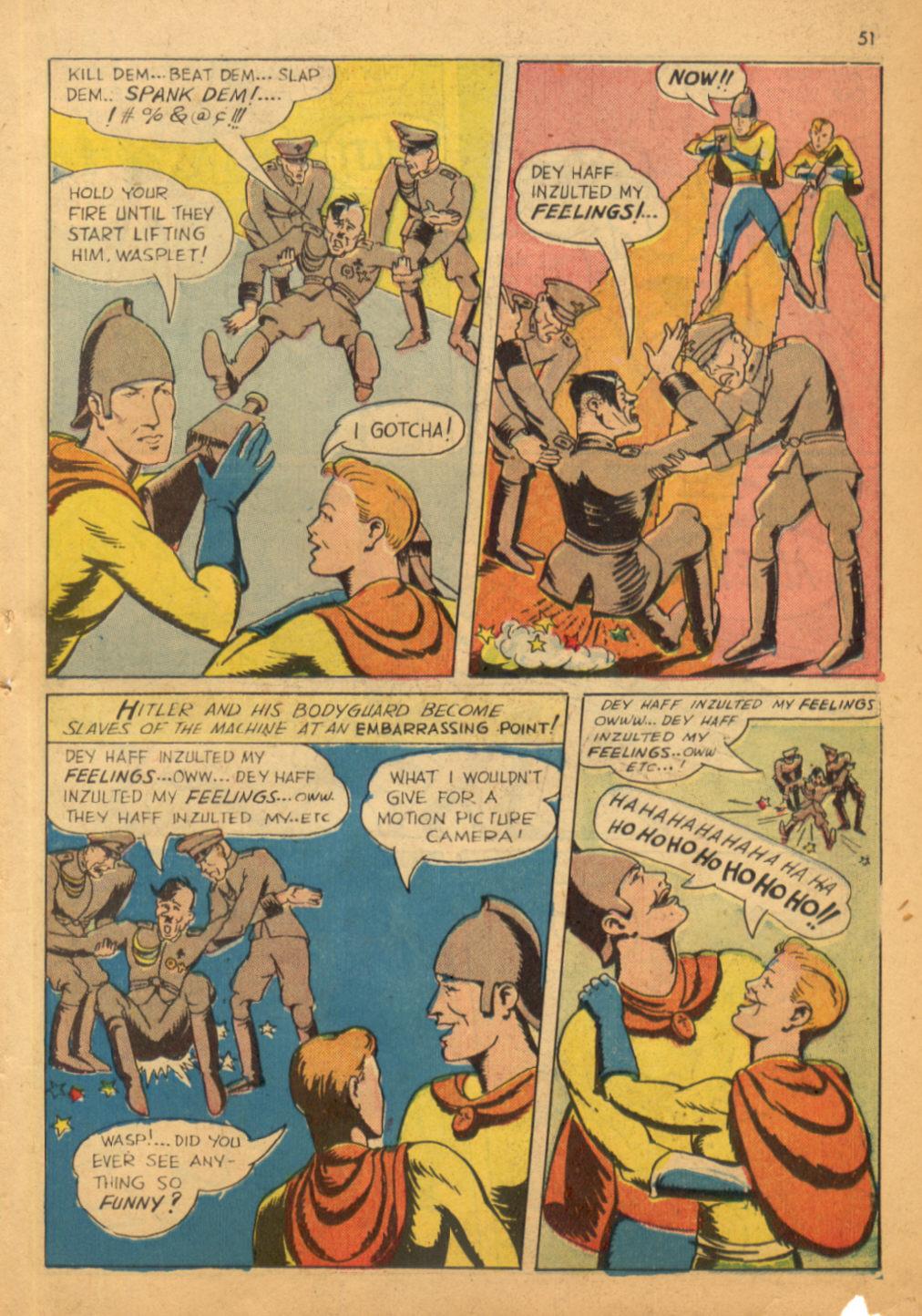 Read online Shadow Comics comic -  Issue #32 - 52