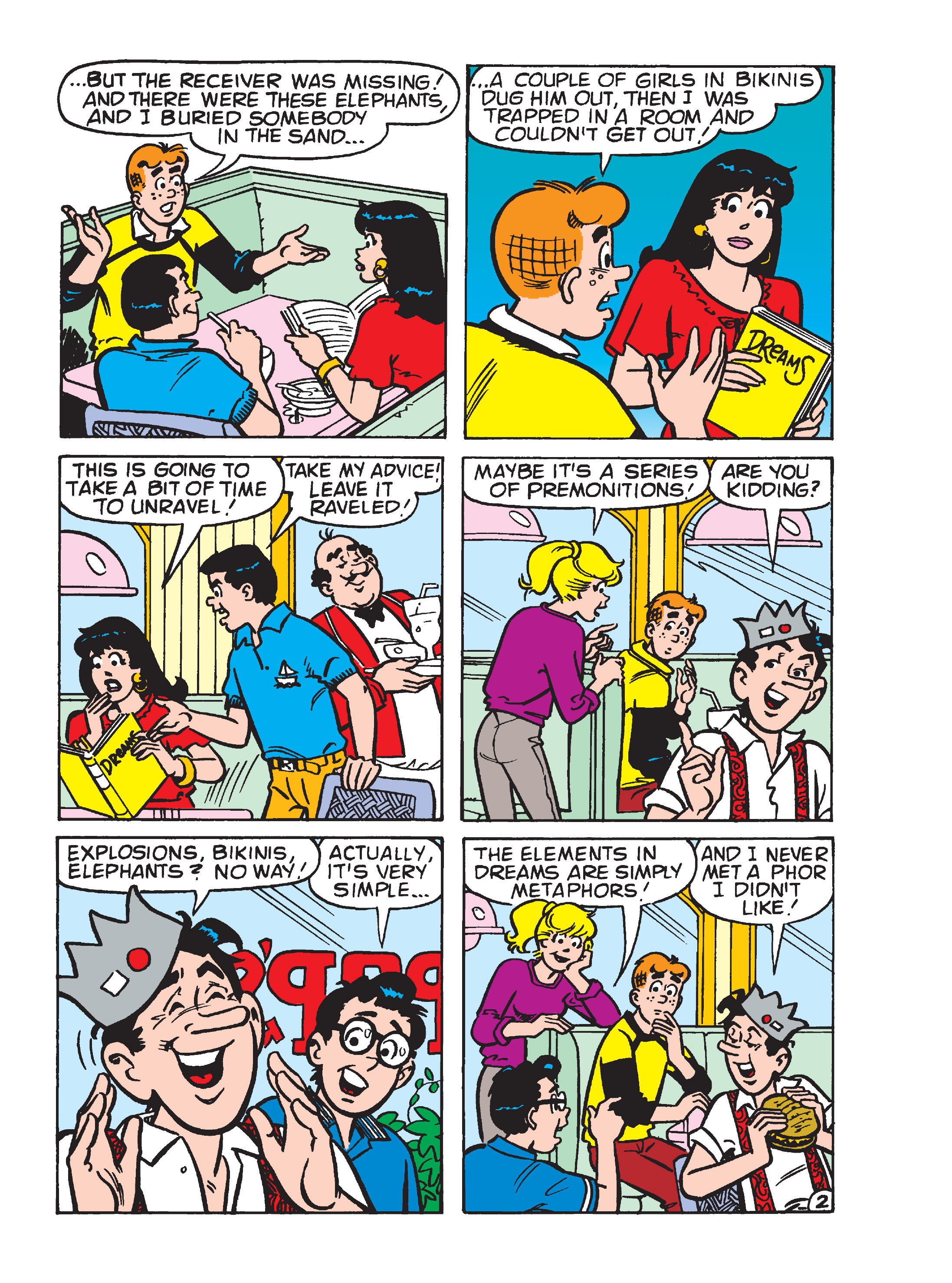 Read online Archie's Funhouse Double Digest comic -  Issue #15 - 93