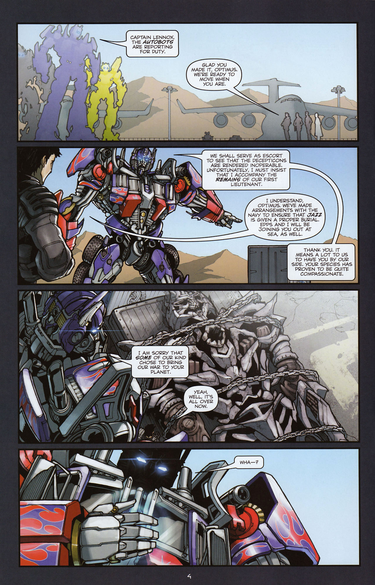 Read online Transformers: Alliance comic -  Issue #2 - 7