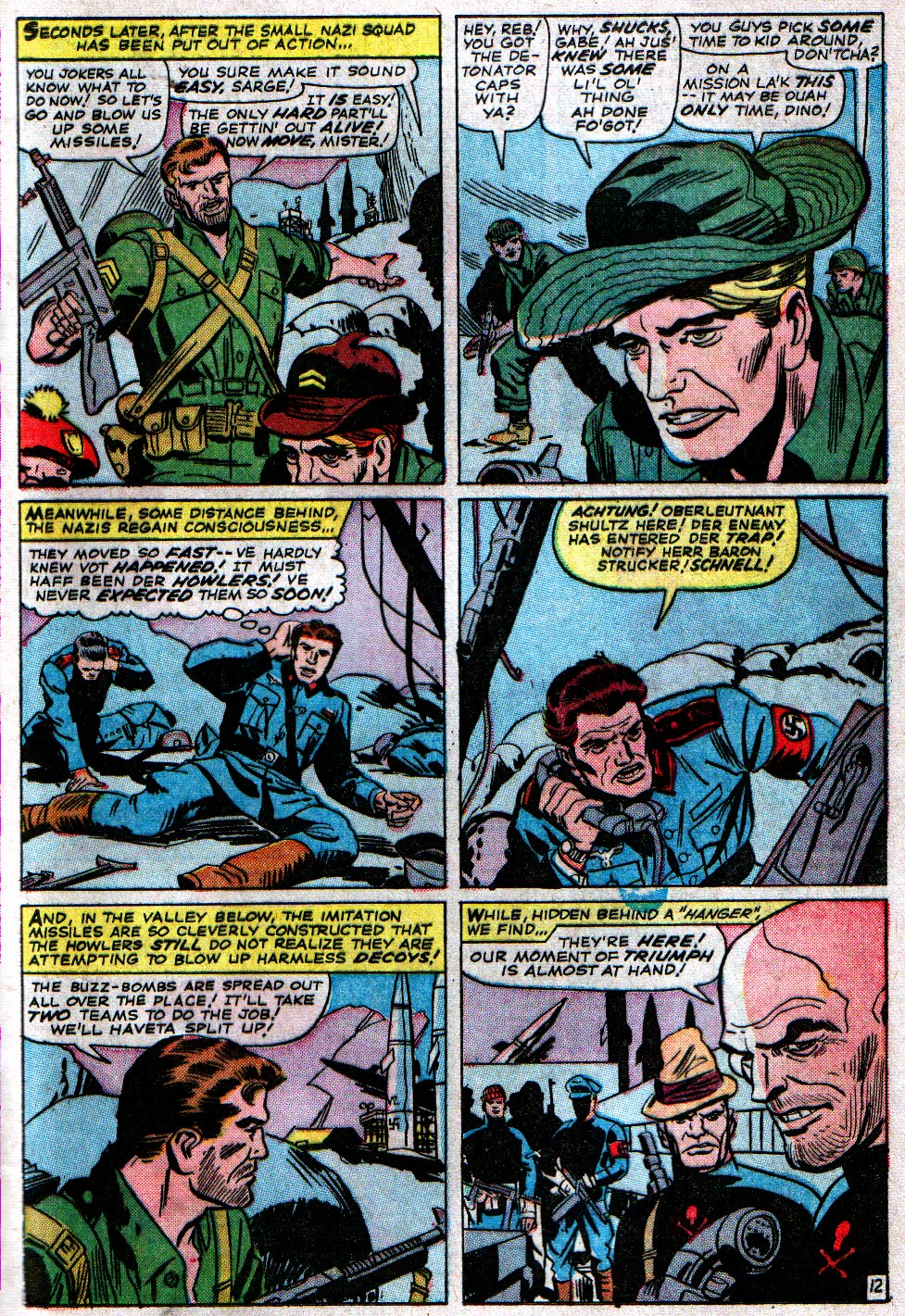 Read online Sgt. Fury comic -  Issue #14 - 17