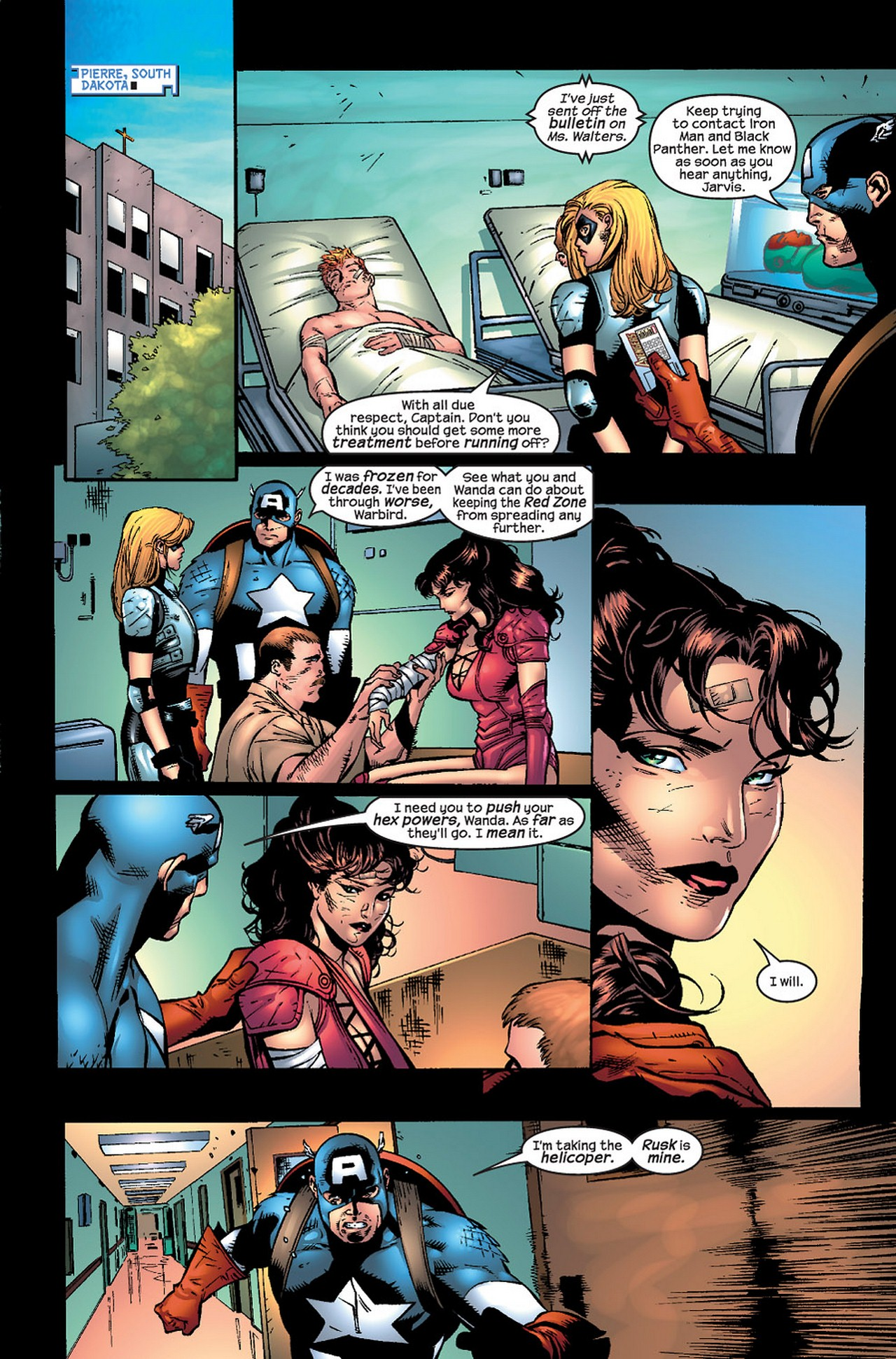Read online Avengers (1998) comic -  Issue #69 - 9