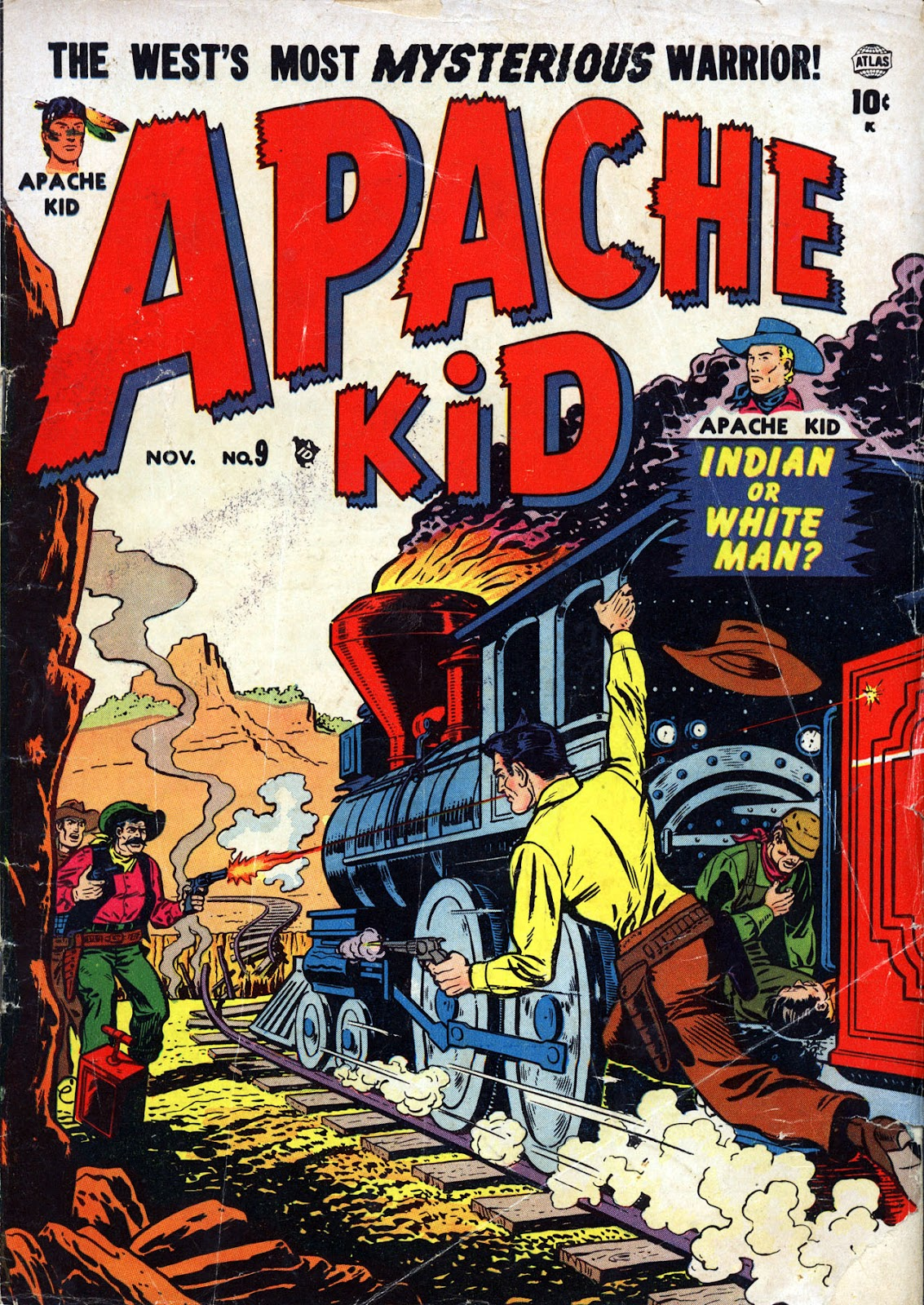Apache Kid issue 9 - Page 1