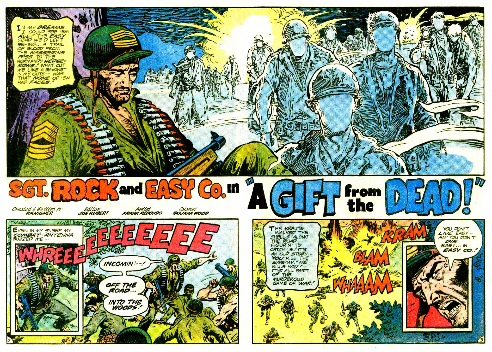 Read online Sgt. Rock comic -  Issue #375 - 4