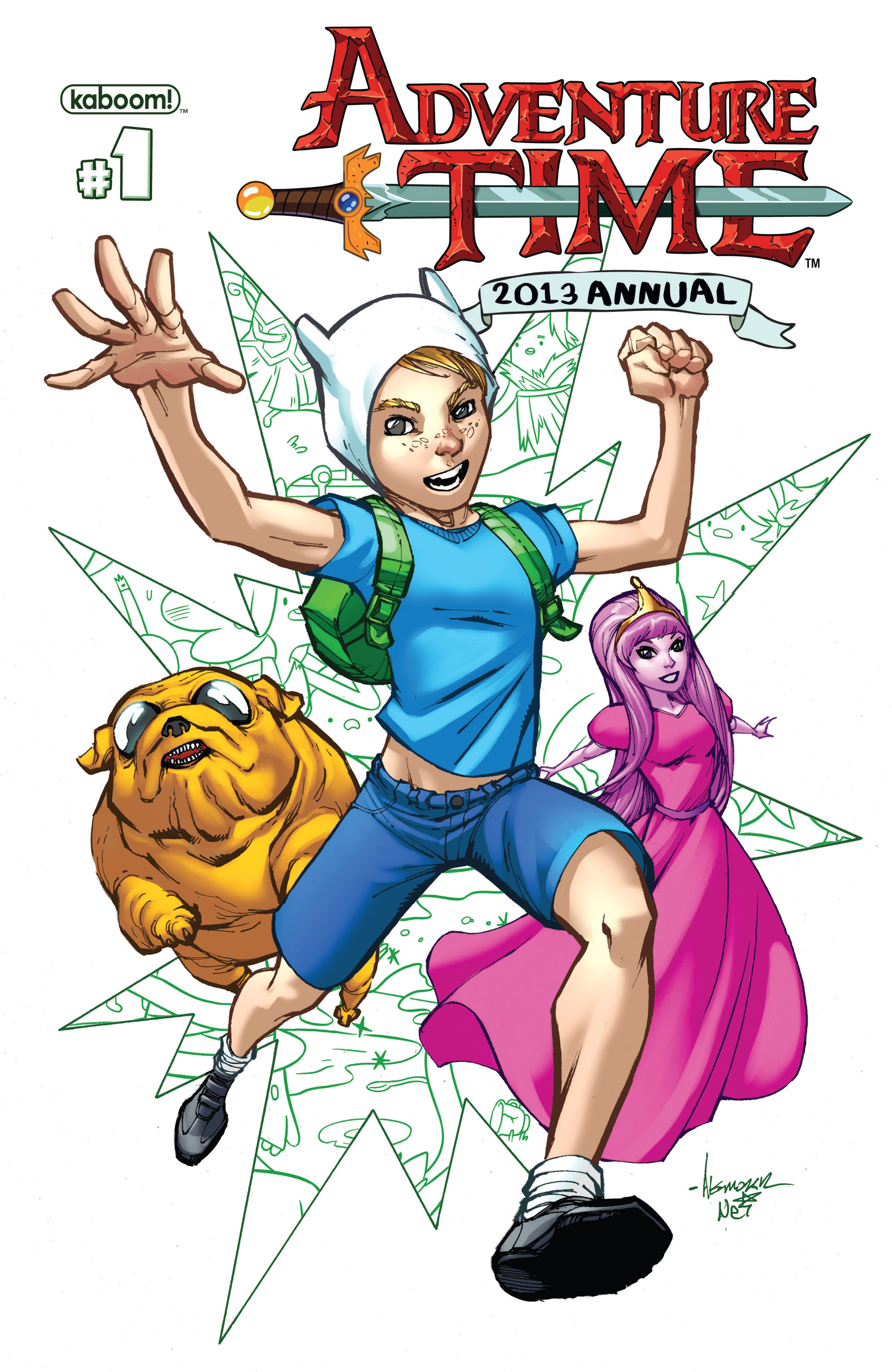 Read online Adventure Time comic -  Issue #Adventure Time _Annual 1 - 1