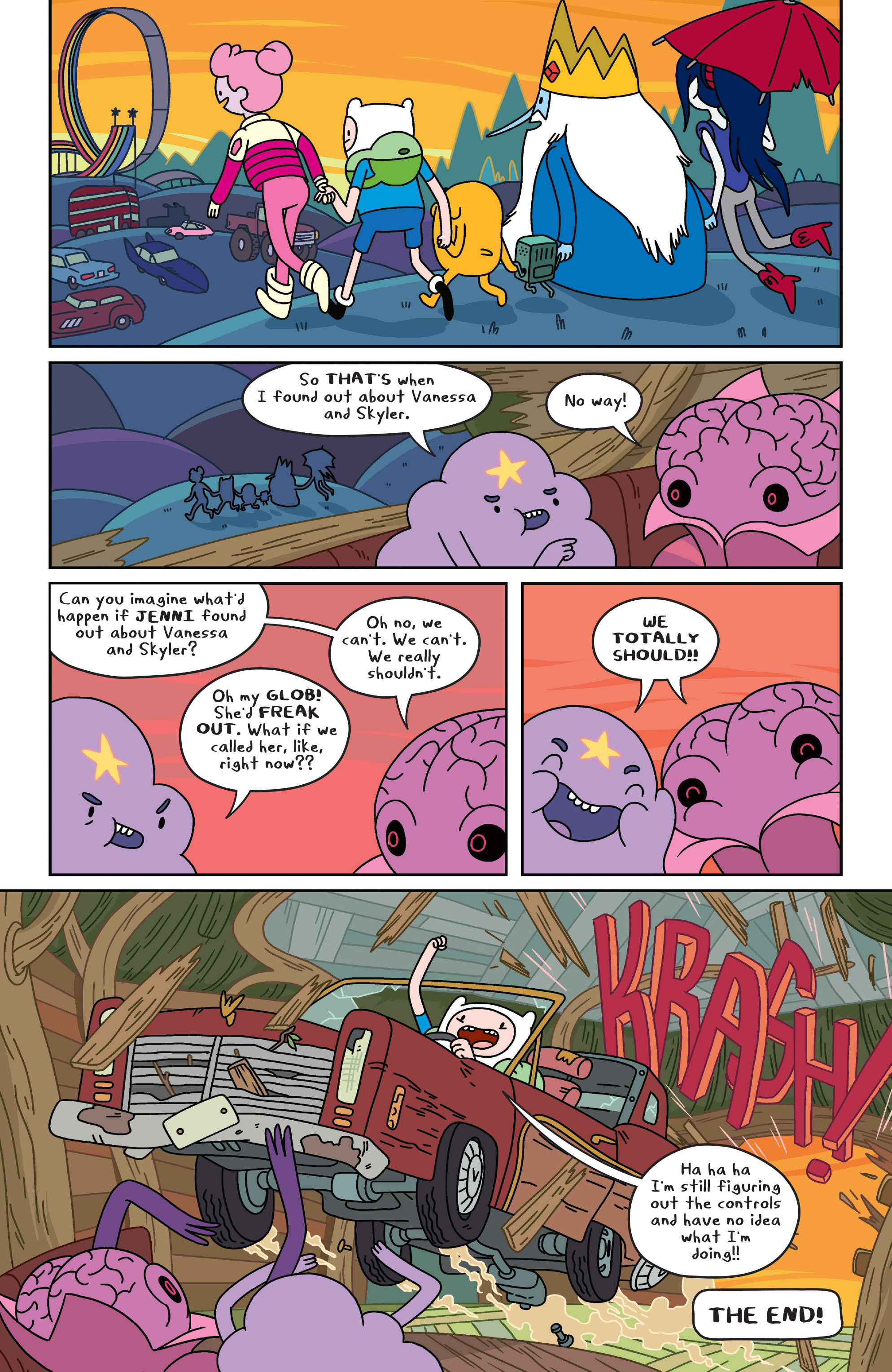 Read online Adventure Time comic -  Issue #34 - 19