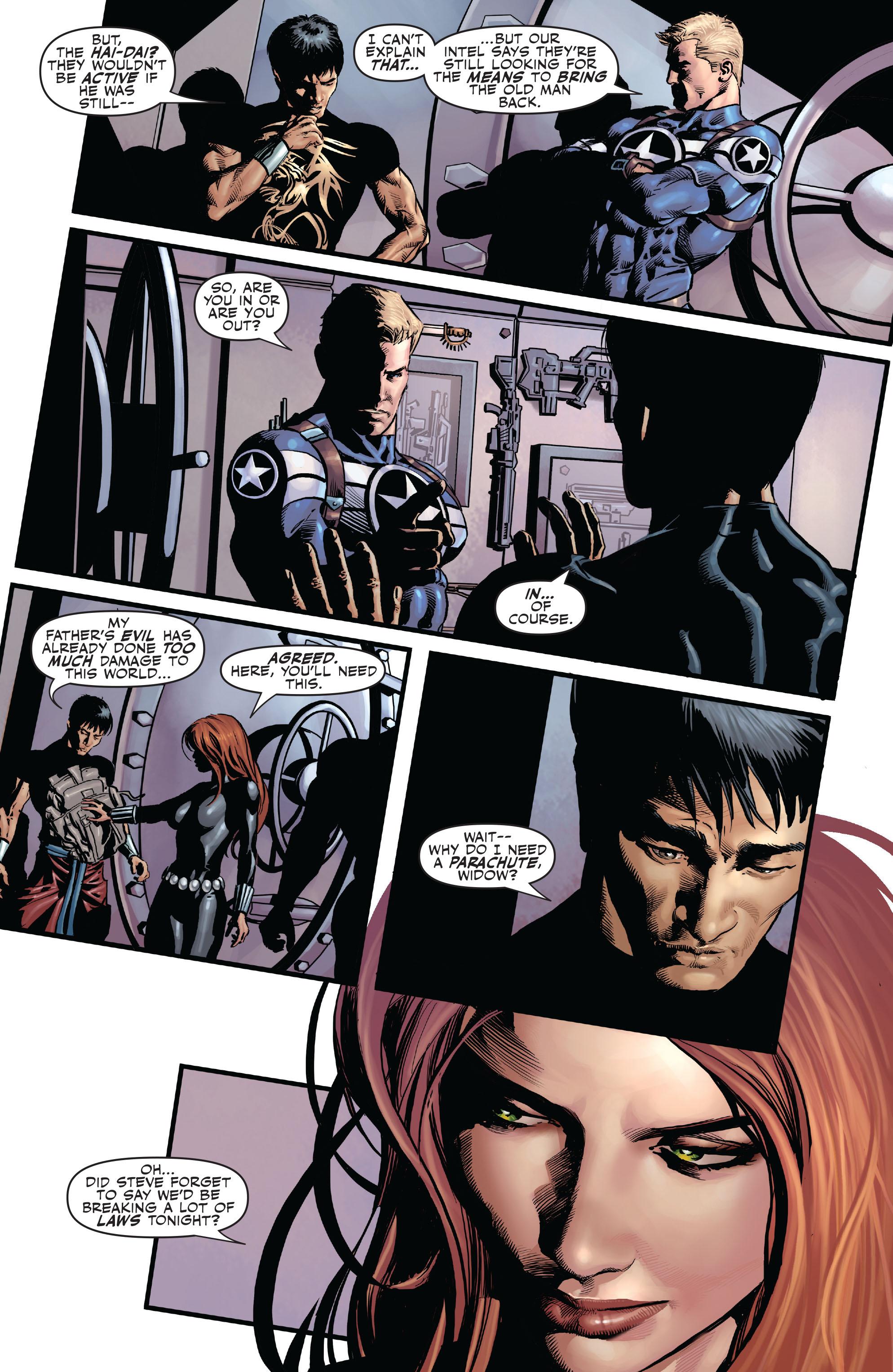 Read online Secret Avengers (2010) comic -  Issue #6 - 17