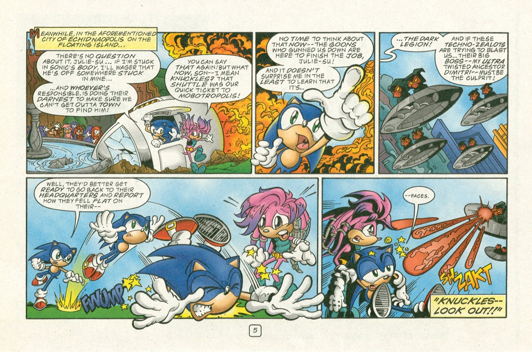 Read online Sonic Super Special comic -  Issue #12 - Sonic and Knuckles visa versa - 8