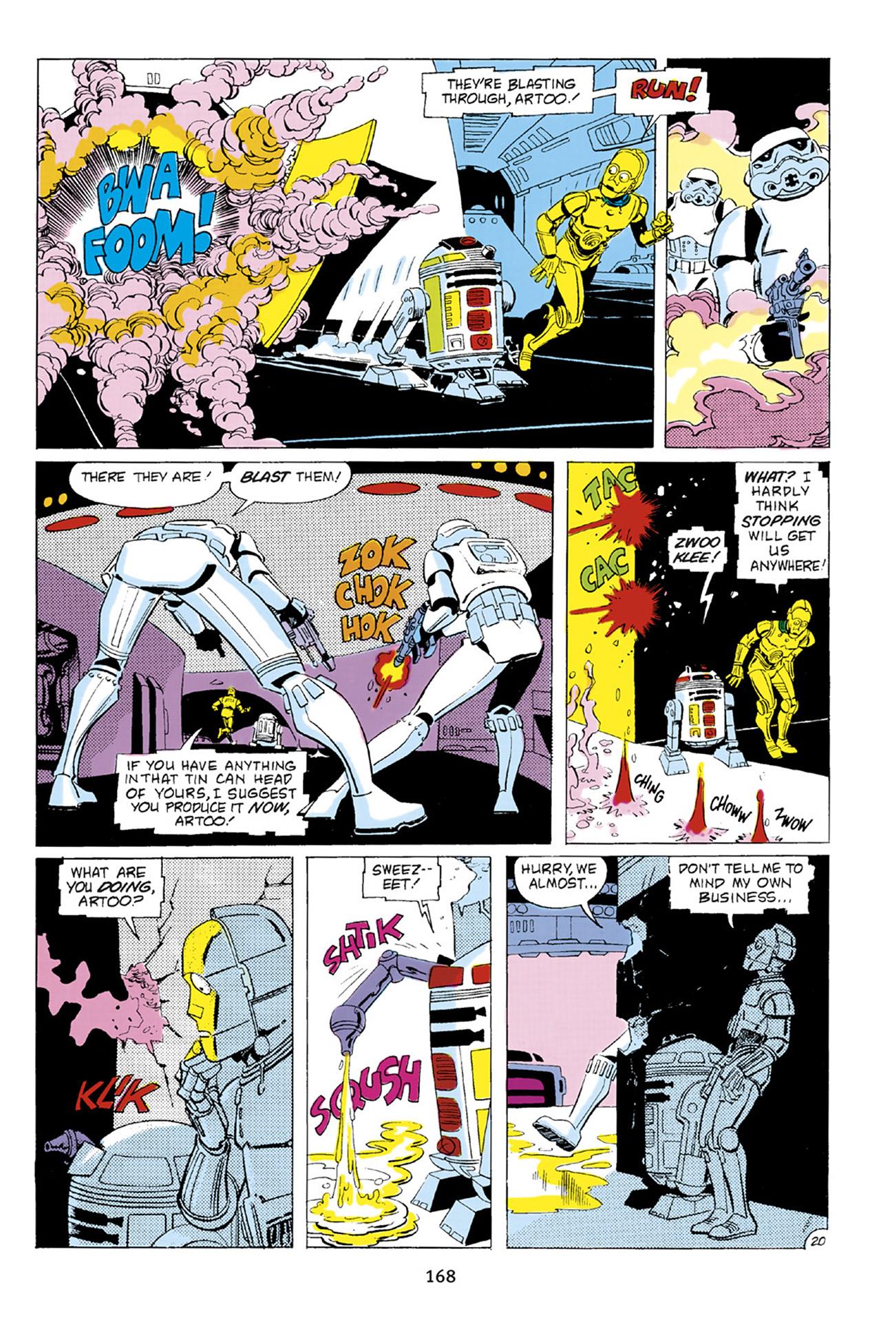 Read online Star Wars Omnibus comic -  Issue # Vol. 23 - 167