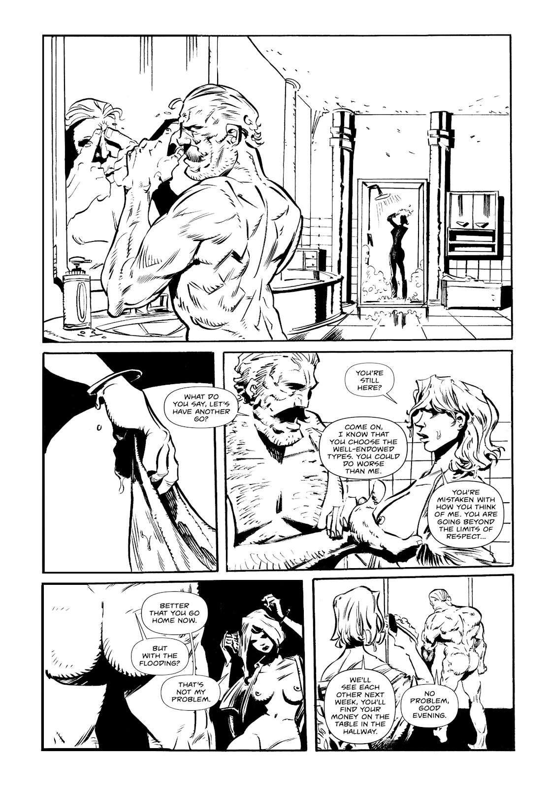 Read online Wrath of God comic -  Issue # _TPB - 58