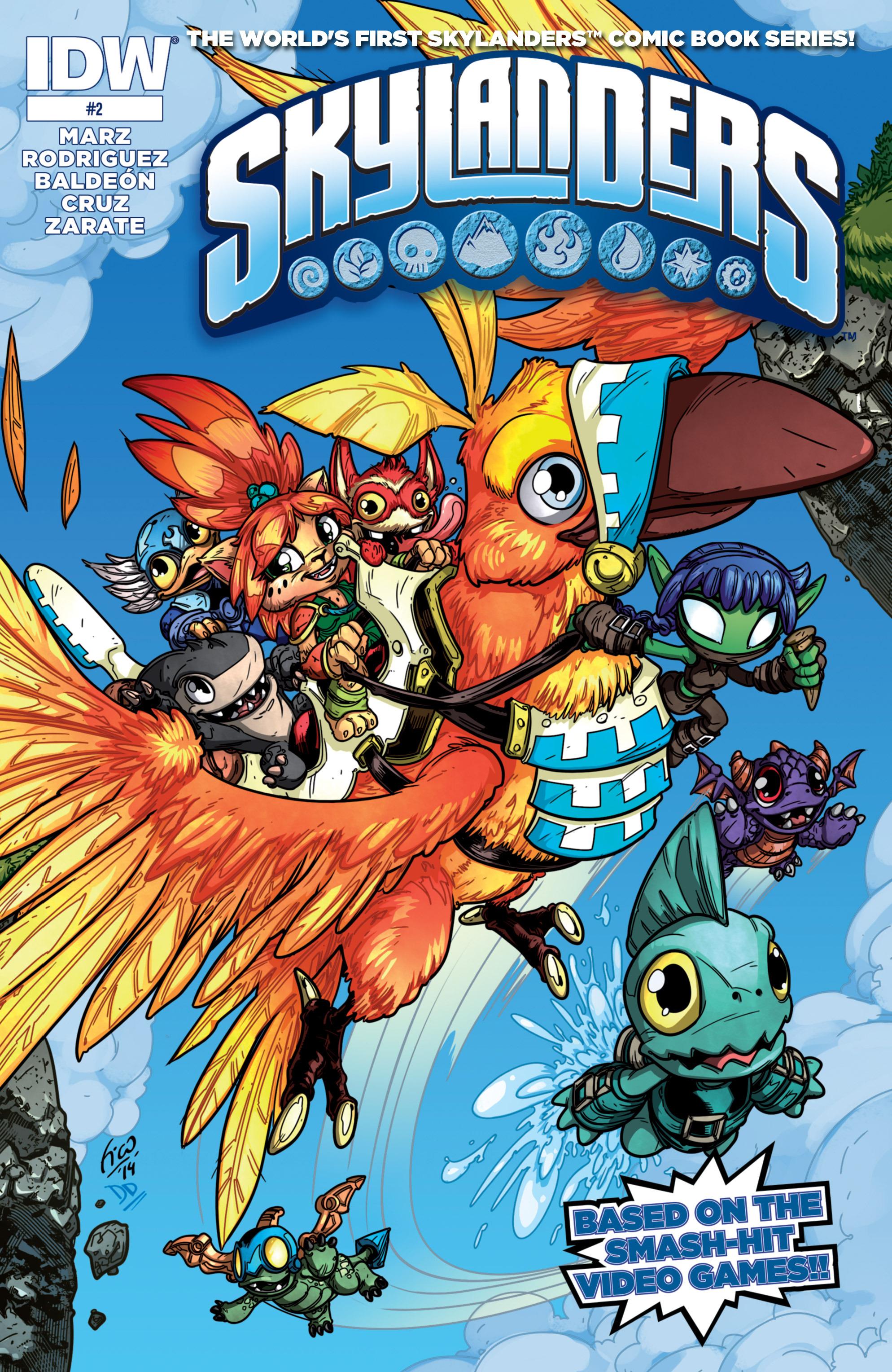 Read online Skylanders comic -  Issue #2 - 1