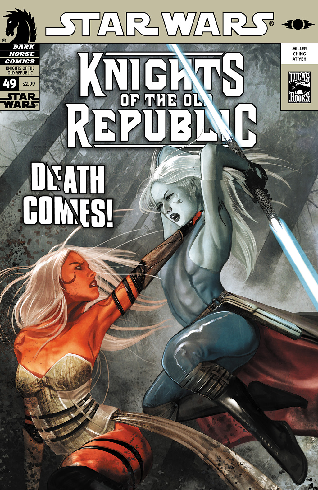 Star Wars: Knights Of The Old Republic issue 49 - Page 1