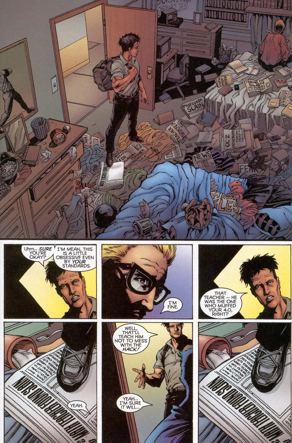 Read online Turok: Redpath comic -  Issue # Full - 12