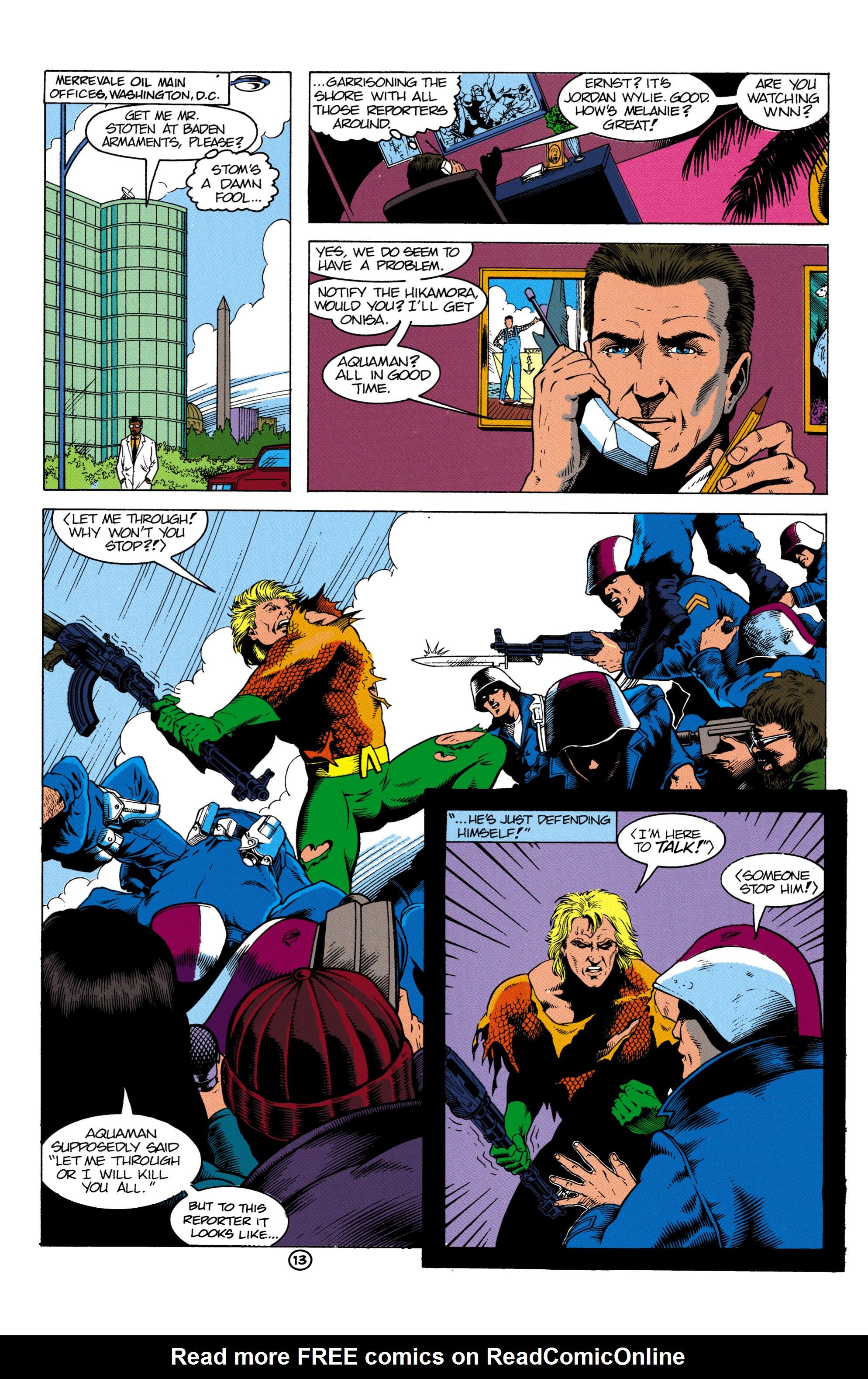 Read online Aquaman (1991) comic -  Issue #2 - 14