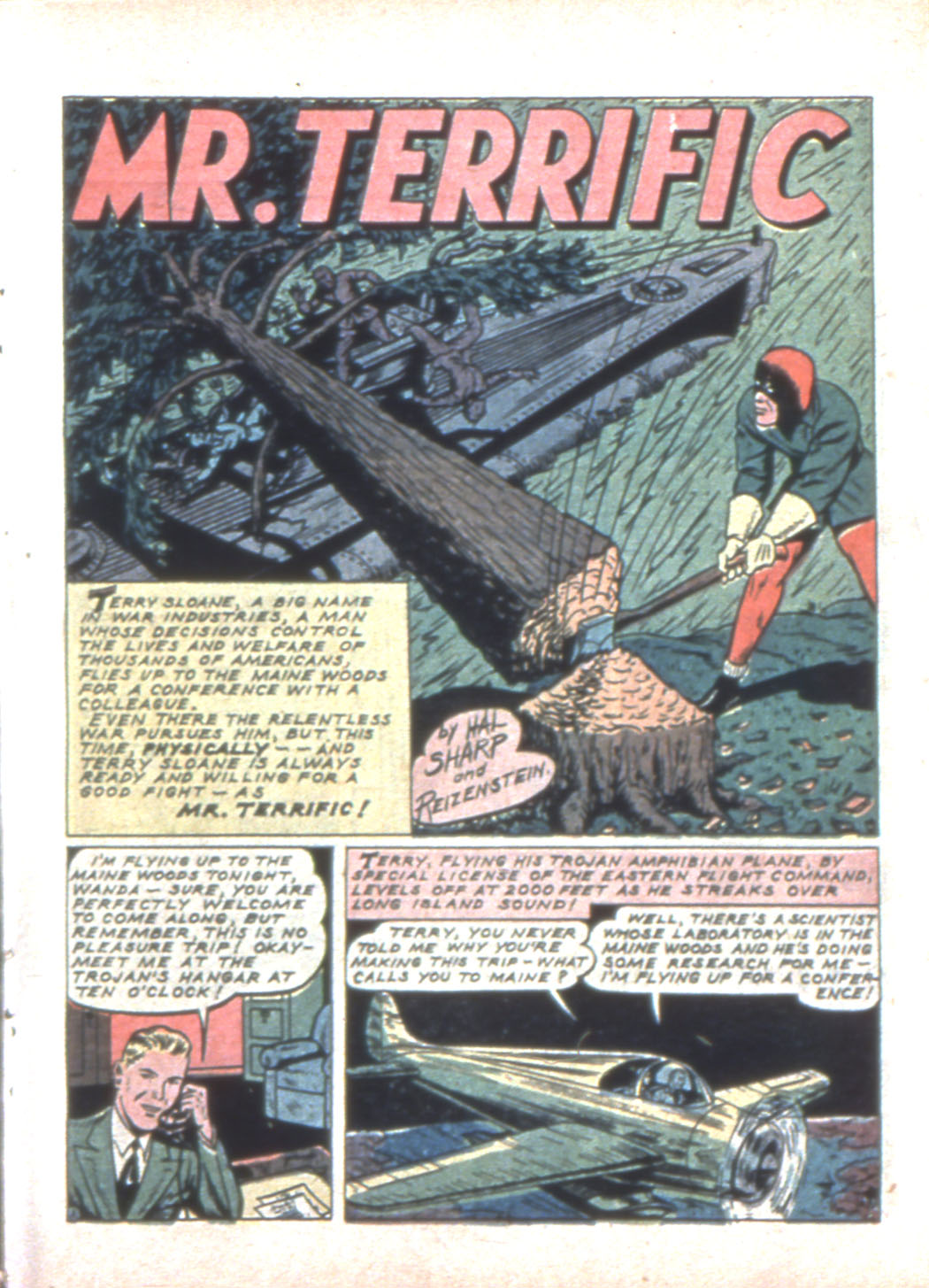 Read online Sensation (Mystery) Comics comic -  Issue #11 - 25