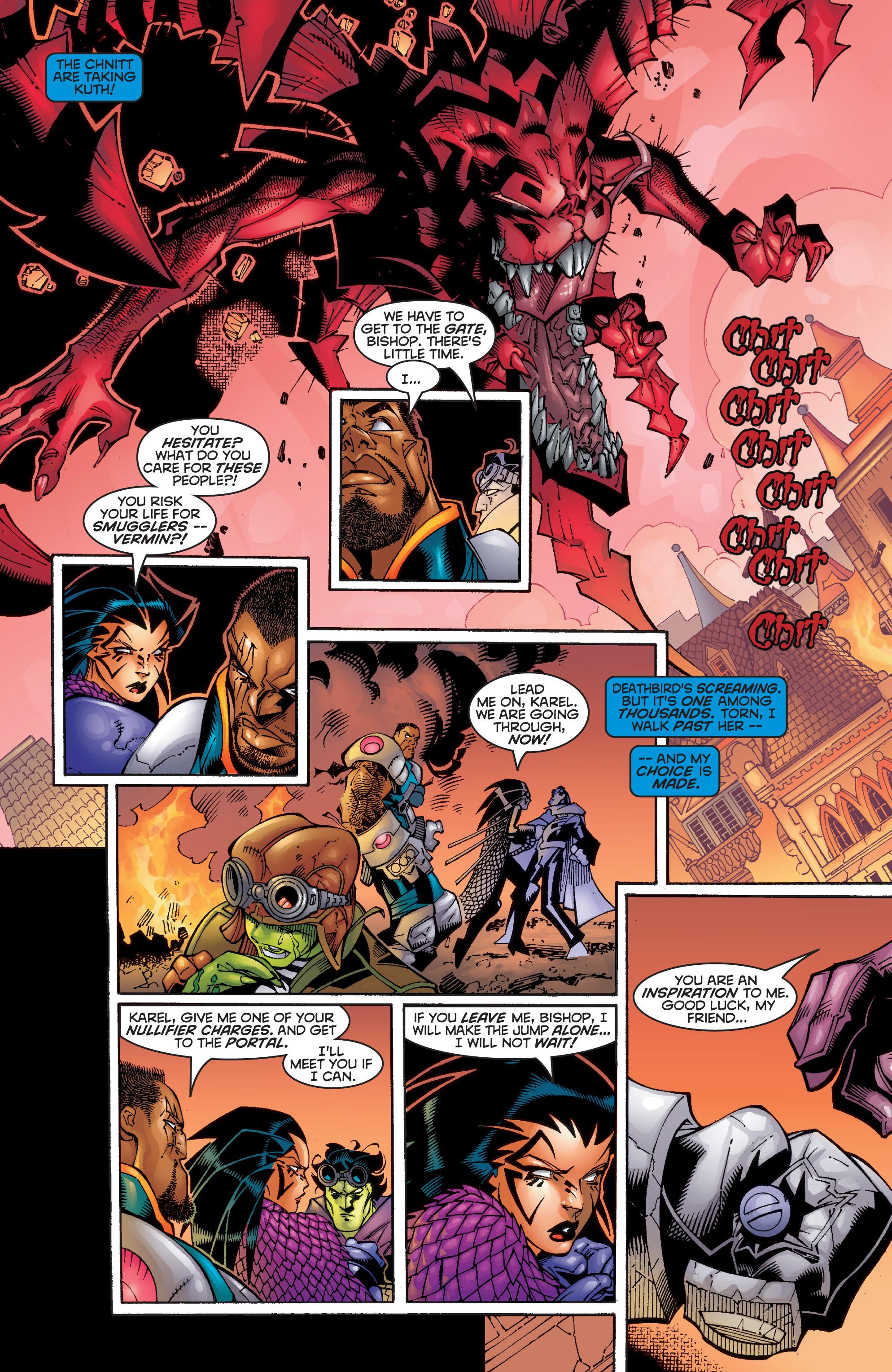 Read online Uncanny X-Men (1963) comic -  Issue #358 - 17