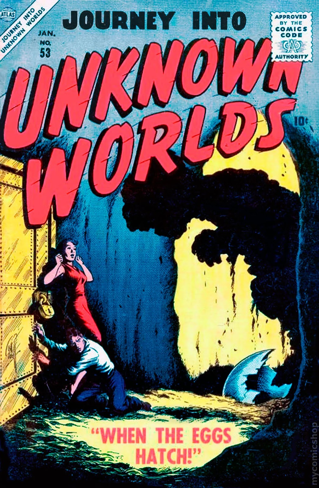 Journey Into Unknown Worlds (1950) issue 53 - Page 1