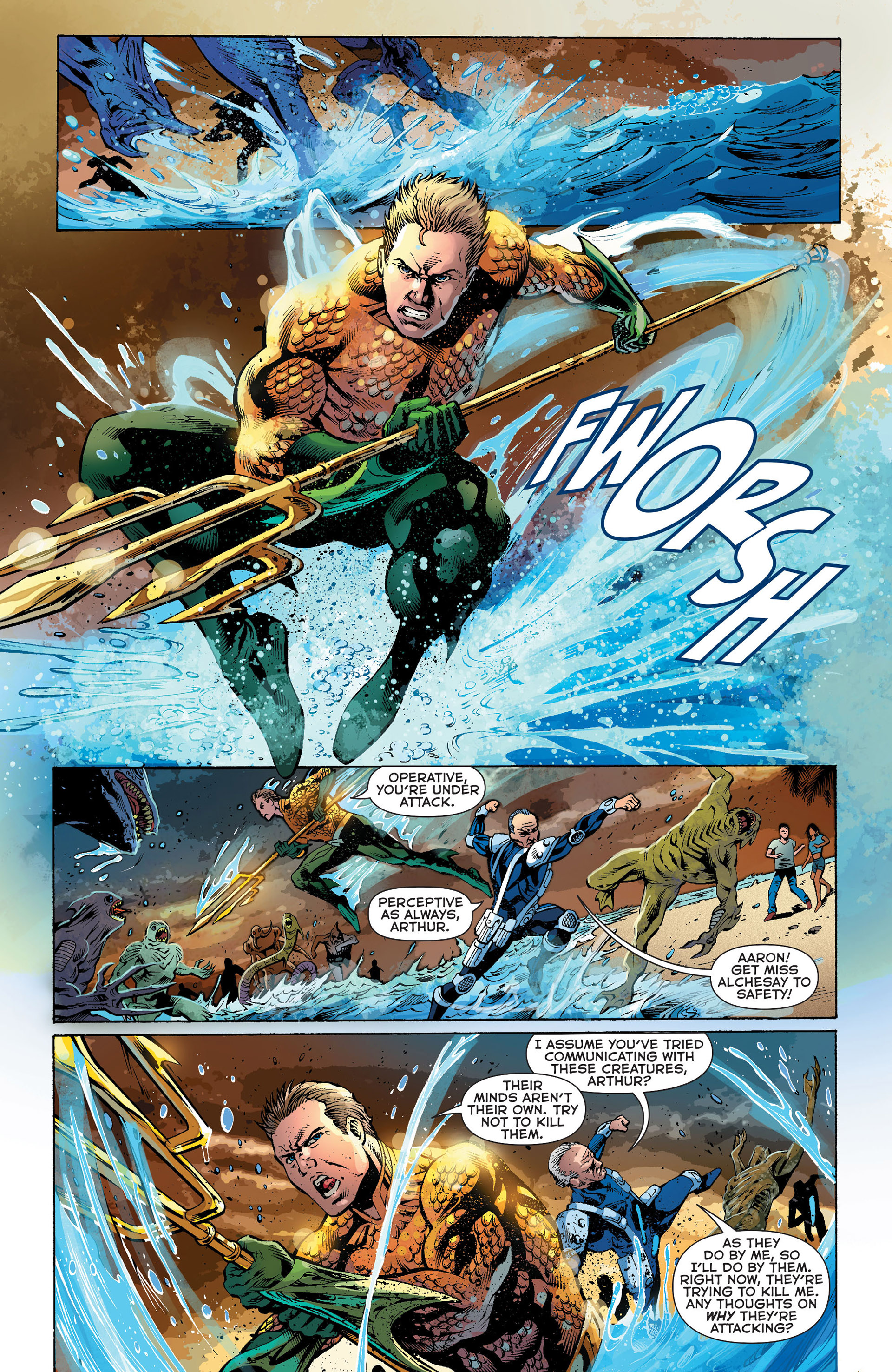 Read online Aquaman (2011) comic -  Issue #Aquaman (2011) _Annual 1 - 5