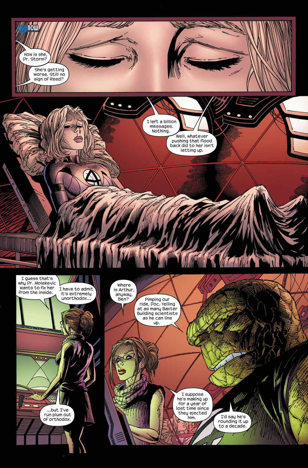 Read online Ultimate Fantastic Four (2004) comic -  Issue #59 - 5